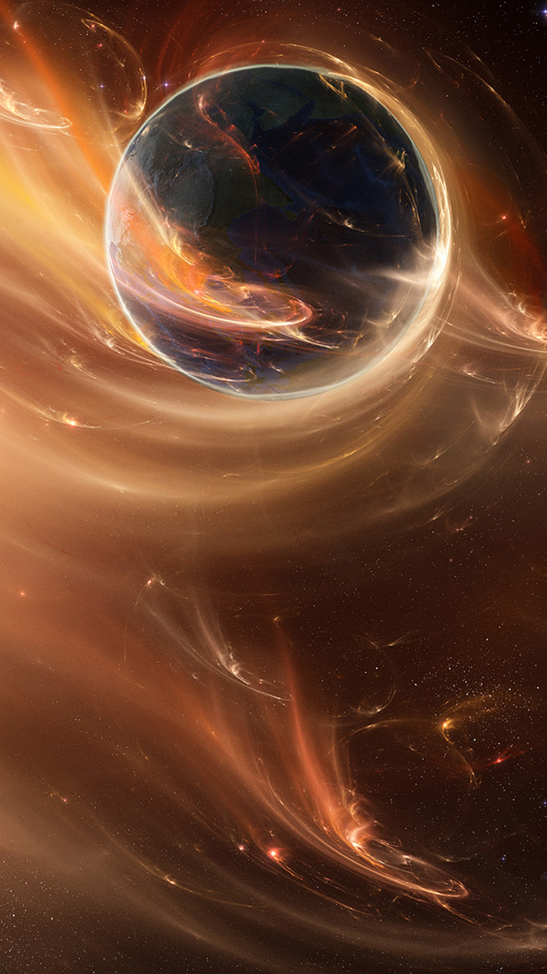 Res: 1080x1920, Beautiful animated space planet iphone wallpapers