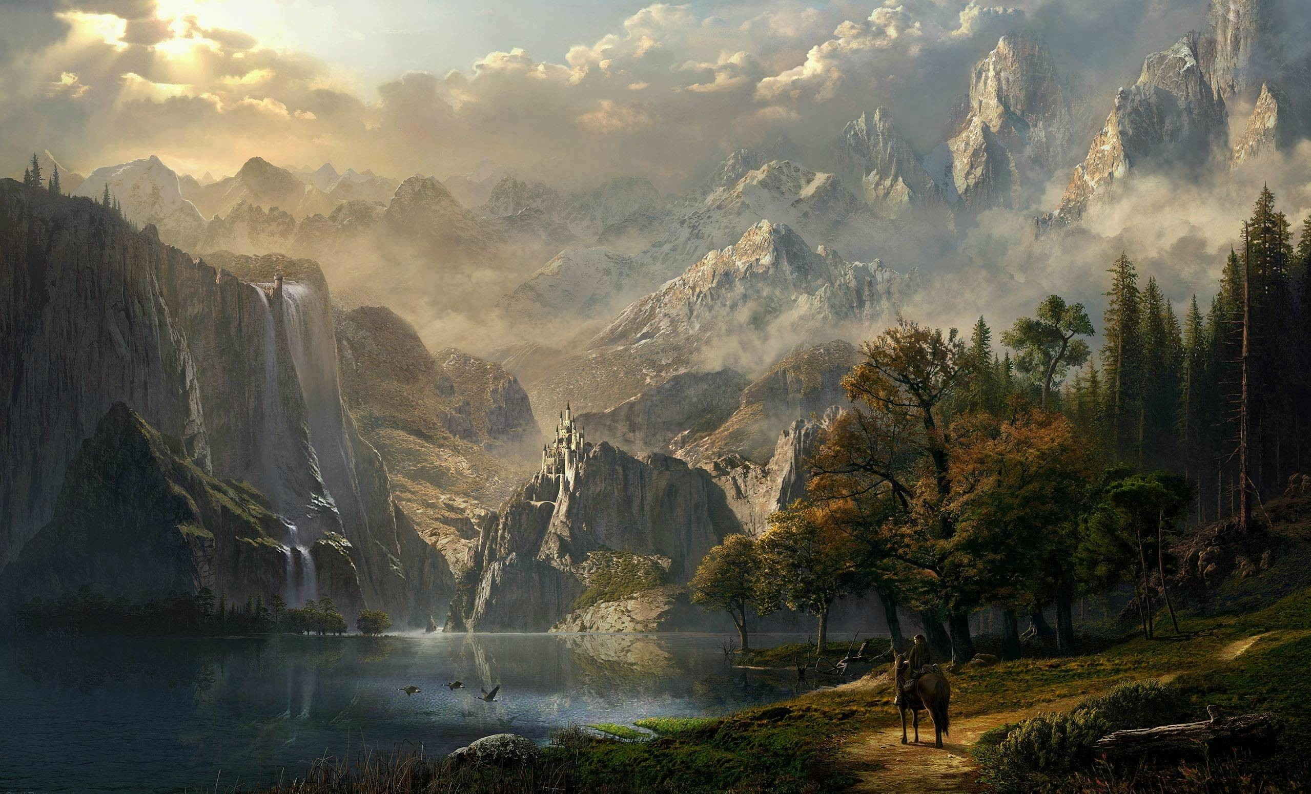 Res: 2558x1550, Epic Fantasy Wallpaper For Iphone