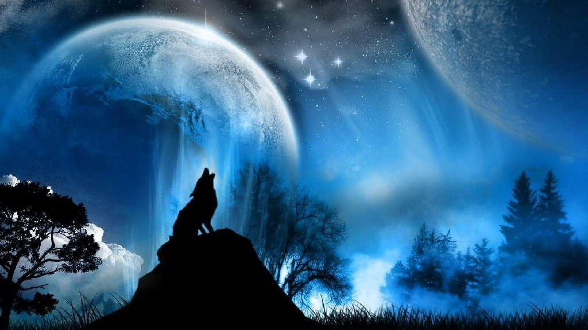 Res: 1920x1080, Only the best free epic wolf wallpapers you can find online! Epic wolf  wallpapers and background images for desktop, iPhone, Android and any  screen ...