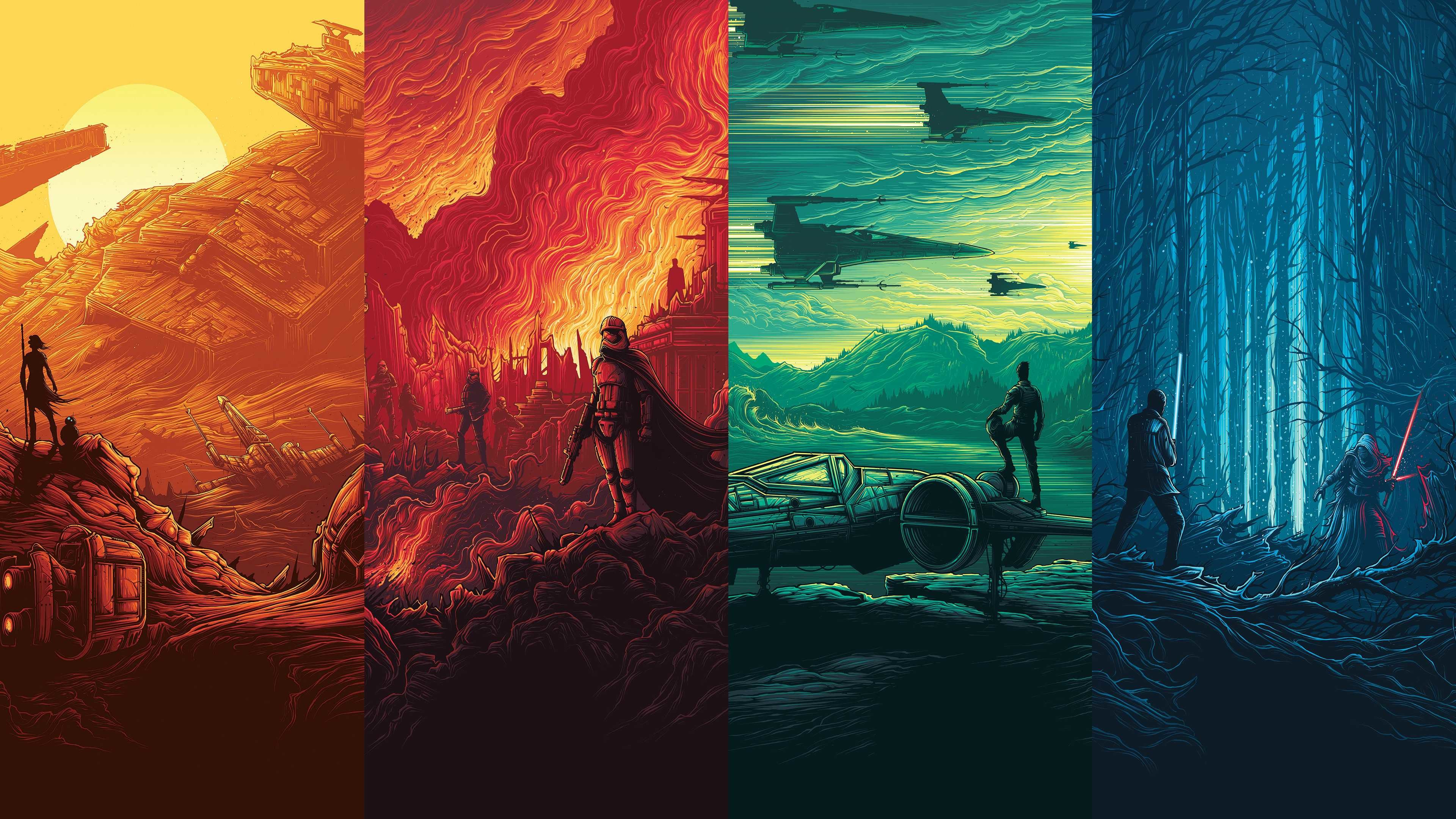 Res: 3840x2160, Epic Star Wars Wallpaper Full Hd High Resolution For Iphone Made Of Those  Imax Posters Album On
