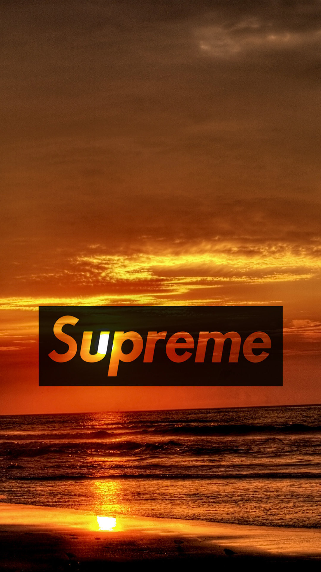Res: 1080x1920, supreme sunset