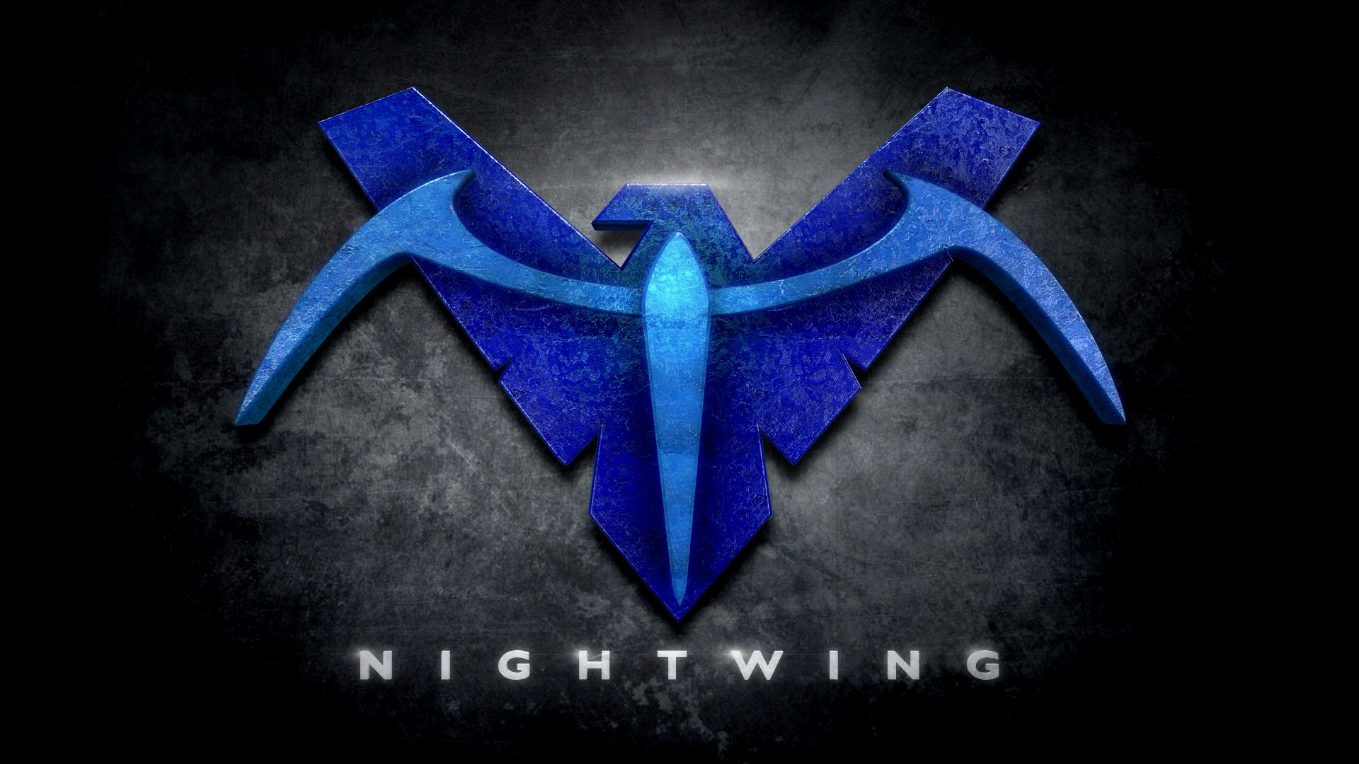 "Res: 1920x1080, Nightwing Wallpaper Awesome Nightwing In the Style Of ""man Of Steel"""
