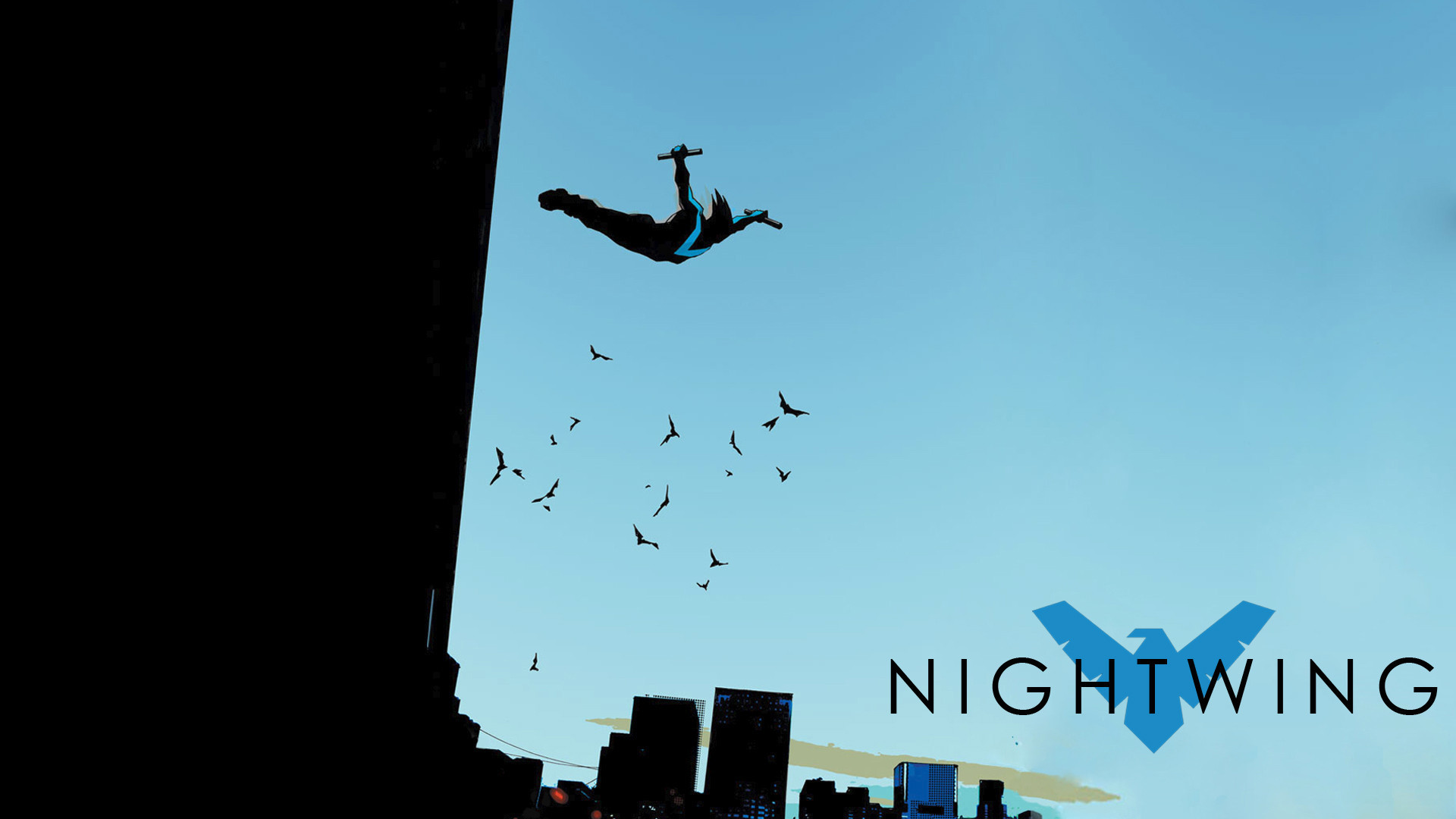 Res: 1920x1080, HD Quality Live Nightwing Backgrounds - Lamonica Sponaugle for PC & Mac,  Laptop, Tablet, Mobile Phone