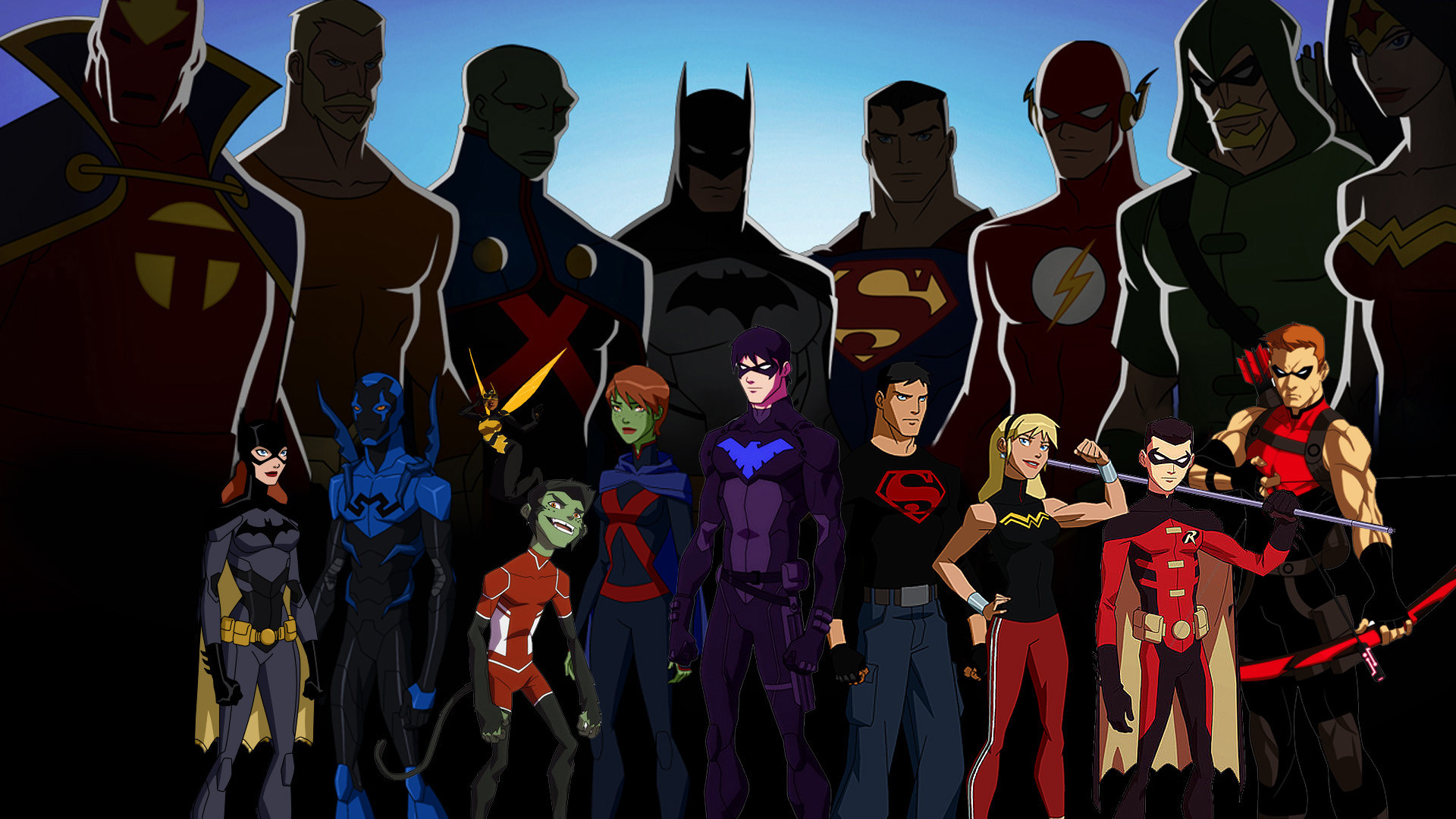 Res: 1920x1080, Young Justice Computer Wallpapers Desktop Backgrounds