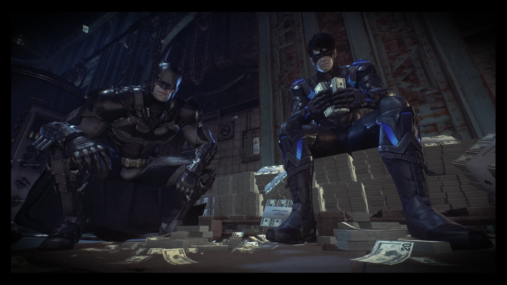 Res: 1920x1080, (Game Capture Test) Kerem Plays Batman: Arkham Knight - Nightwing Wrecks  the Iceberg Lounge - YouTube