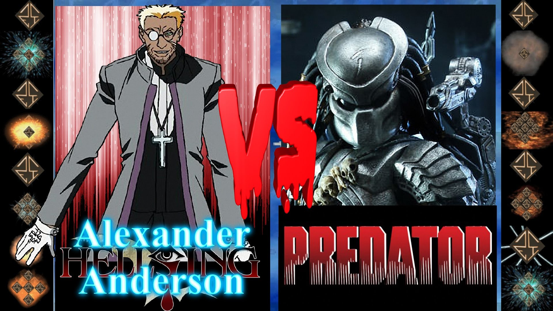 Res: 1920x1080, Alexander Anderson (Hellsing Ultimate) vs the Predator (Dark Horse Comics)  Ultimate Mugen Fight - YouTube