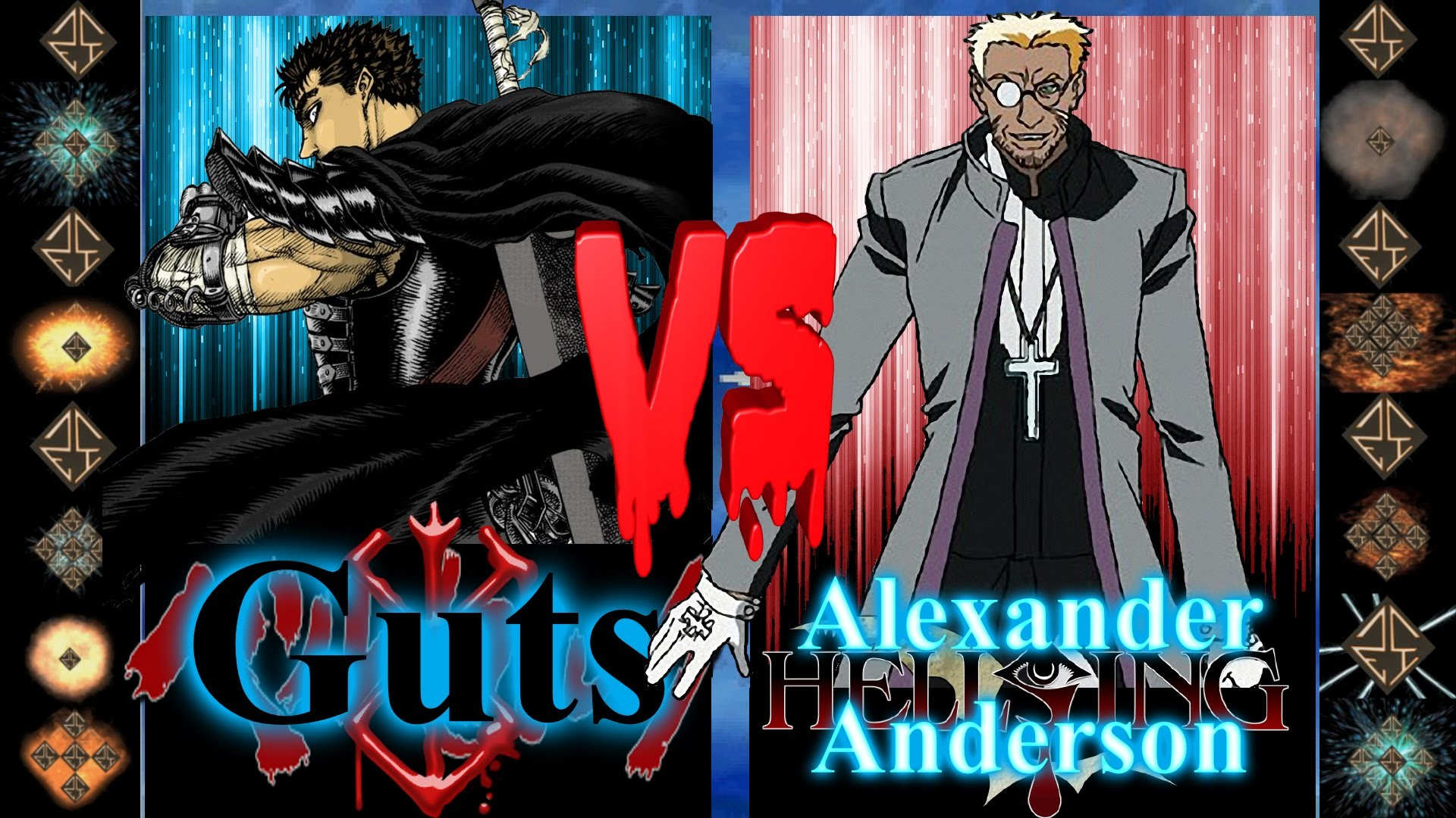 Res: 1920x1080, Guts (Berserk) vs Alexander Anderson (Hellsing Ultimate) - Ultimate Mugen  Fight 2016 - YouTube