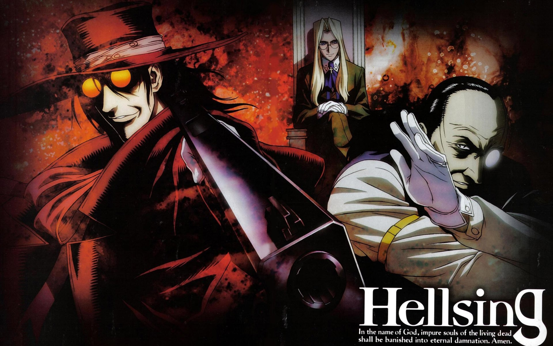 Res: 1920x1200, hellsing ultimate wallpaper hd #667732