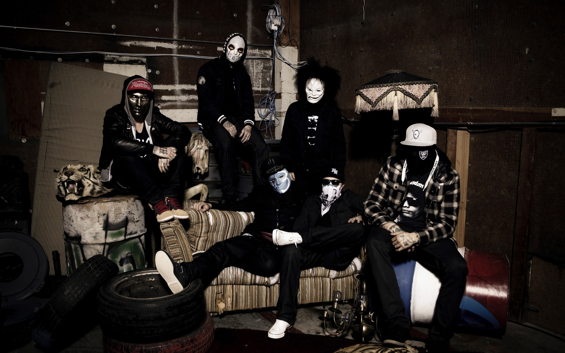 Res: 1920x1200, Hollywood Undead Wallpaper HD