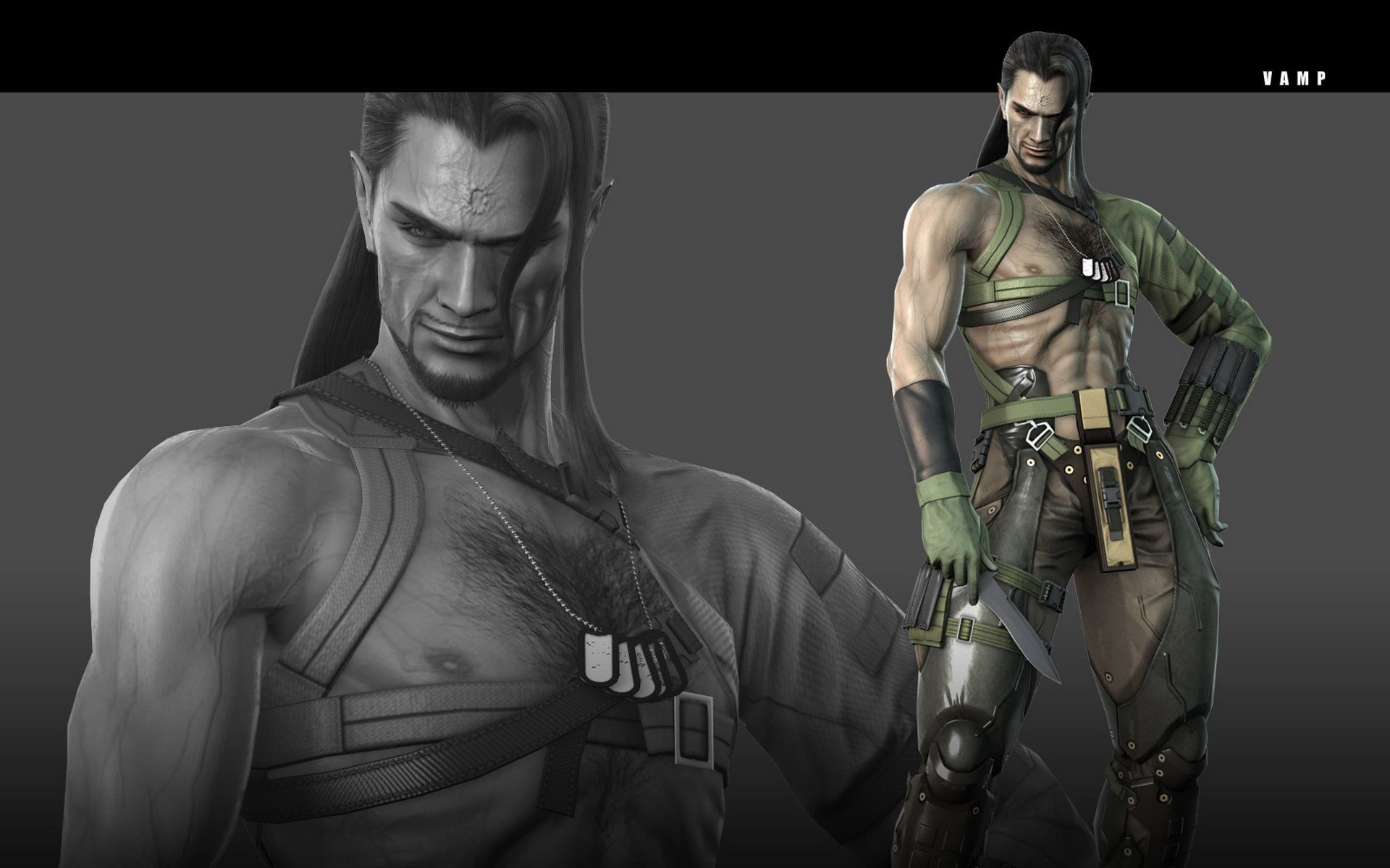 Res: 1920x1200, Note, if Anderson is too much for vamp, switch him out for Solidus Snake  instead.