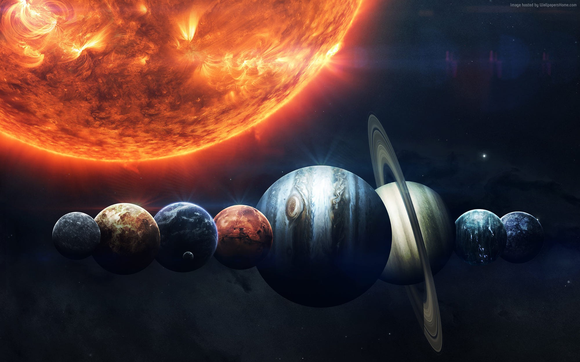 Space Planets Wallpapers HD Wallpaper Collections