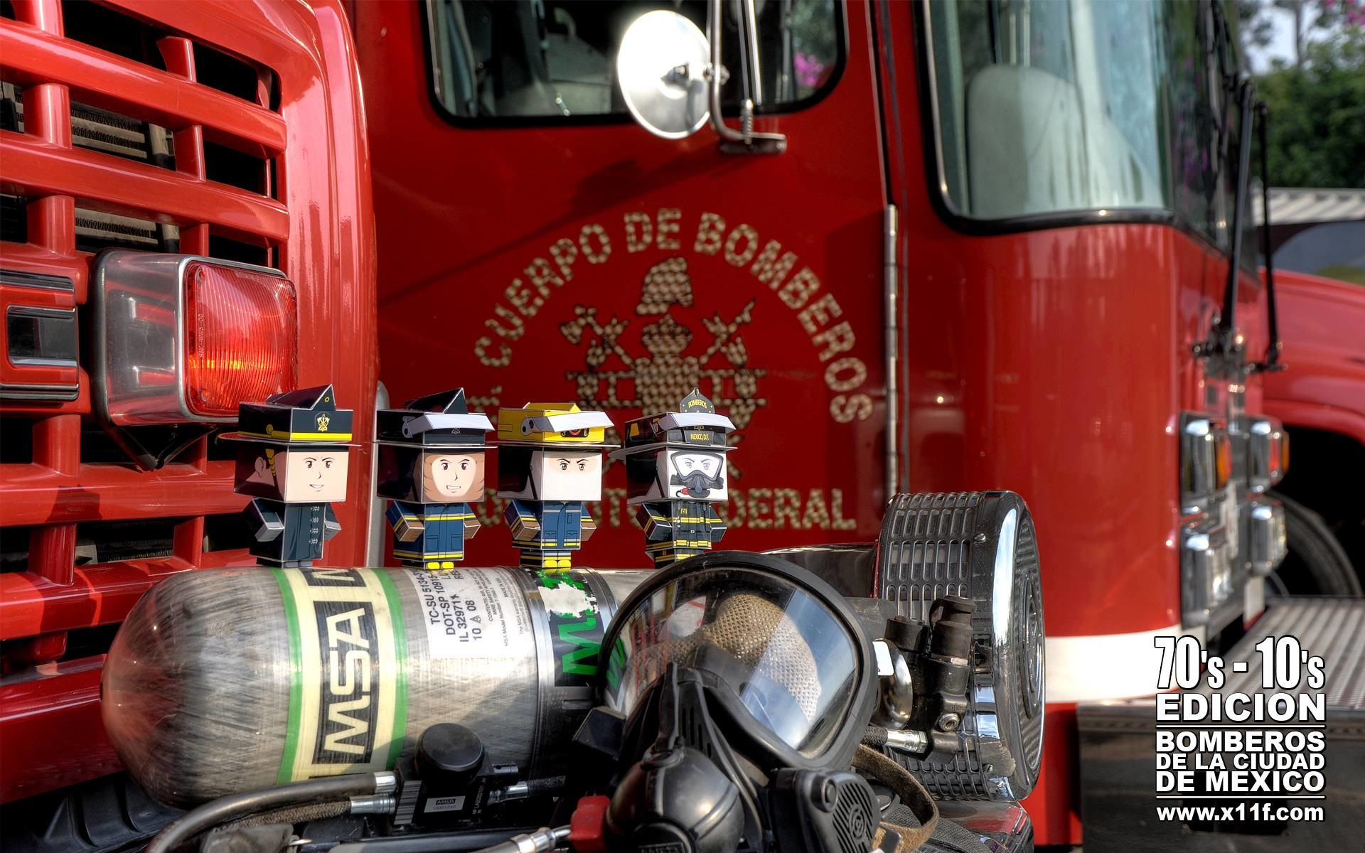 Res: 1920x1200, cubeelog » Cubeecraft Firefighters by Ricardo Herrera