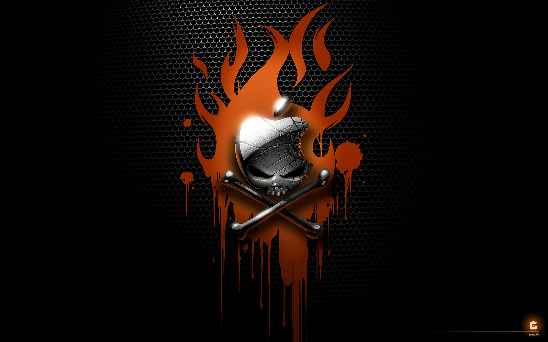 Res: 1920x1200, Image from http://static2.wallpedes.com/wallpaper /download/download-badass-skull-mac-wallpaper-zee-gallery-desktop-wallpaper -skull-firefighter-direct-hd- ...
