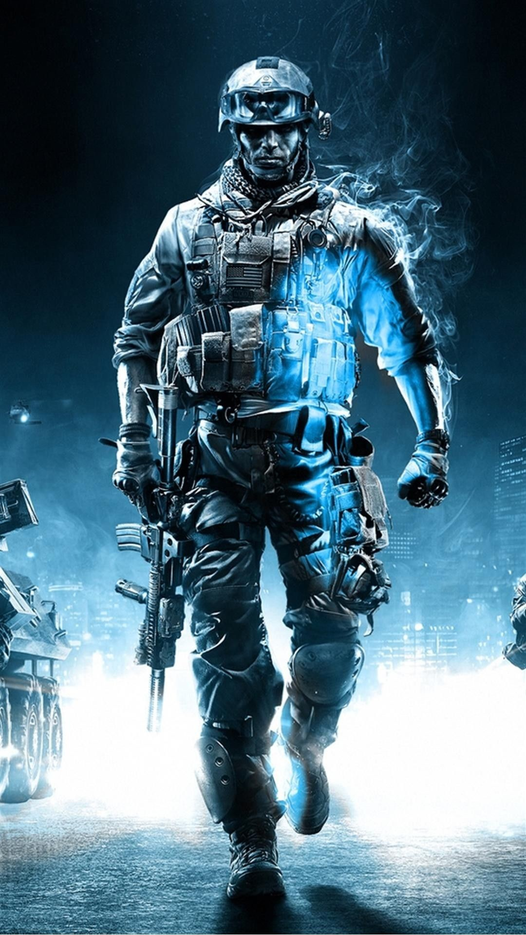 Res: 1080x1920, Call Of Duty Ghosts Soldier iPhone 6 Plus HD Wallpaper
