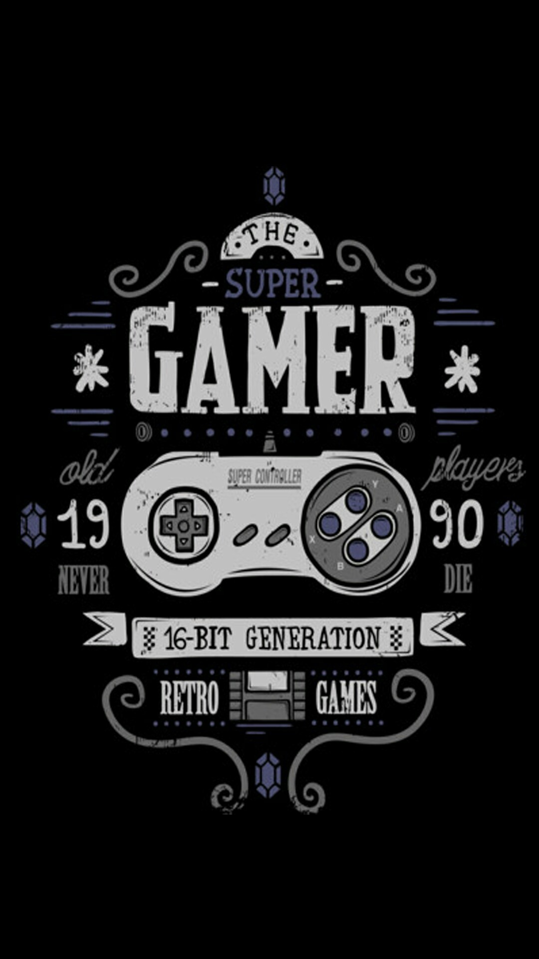 Res: 1080x1920, The Super Gamer by Mrz_Hyde on ZEDGE