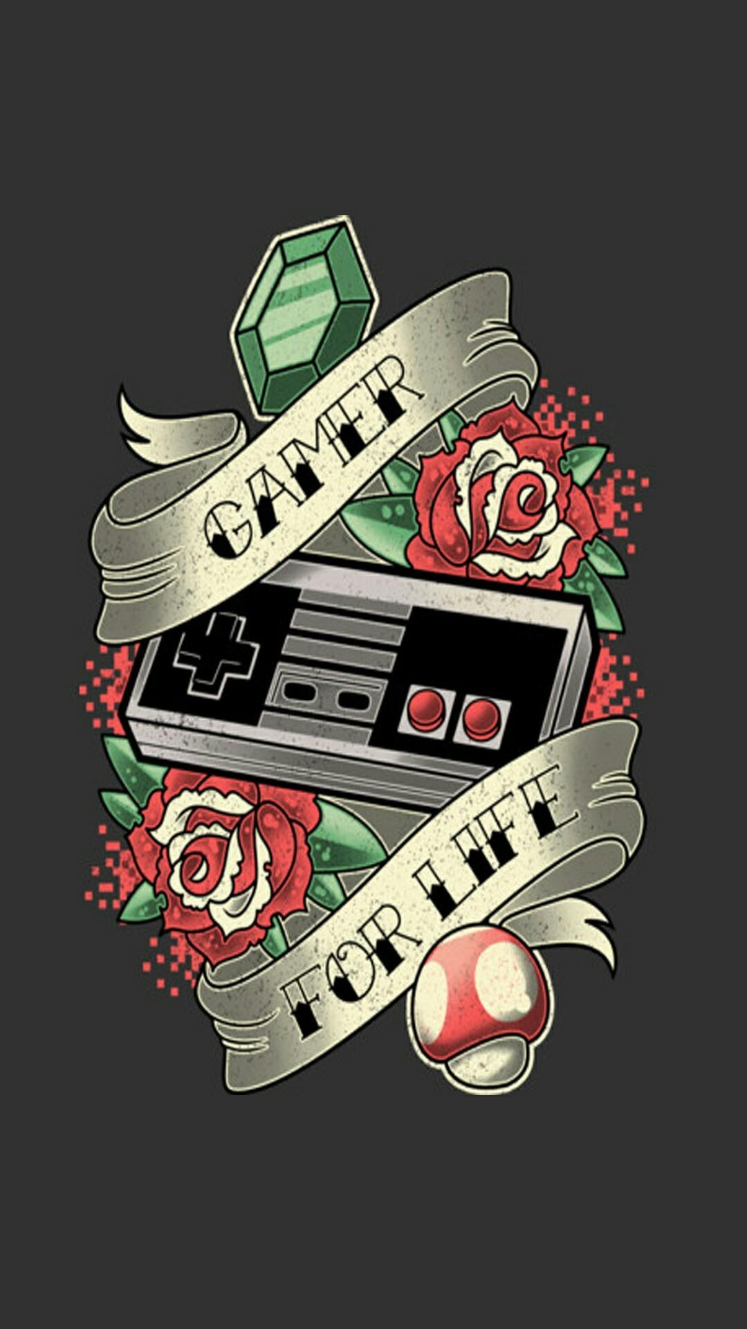 Res: 1080x1920, Gamer Wallpaper