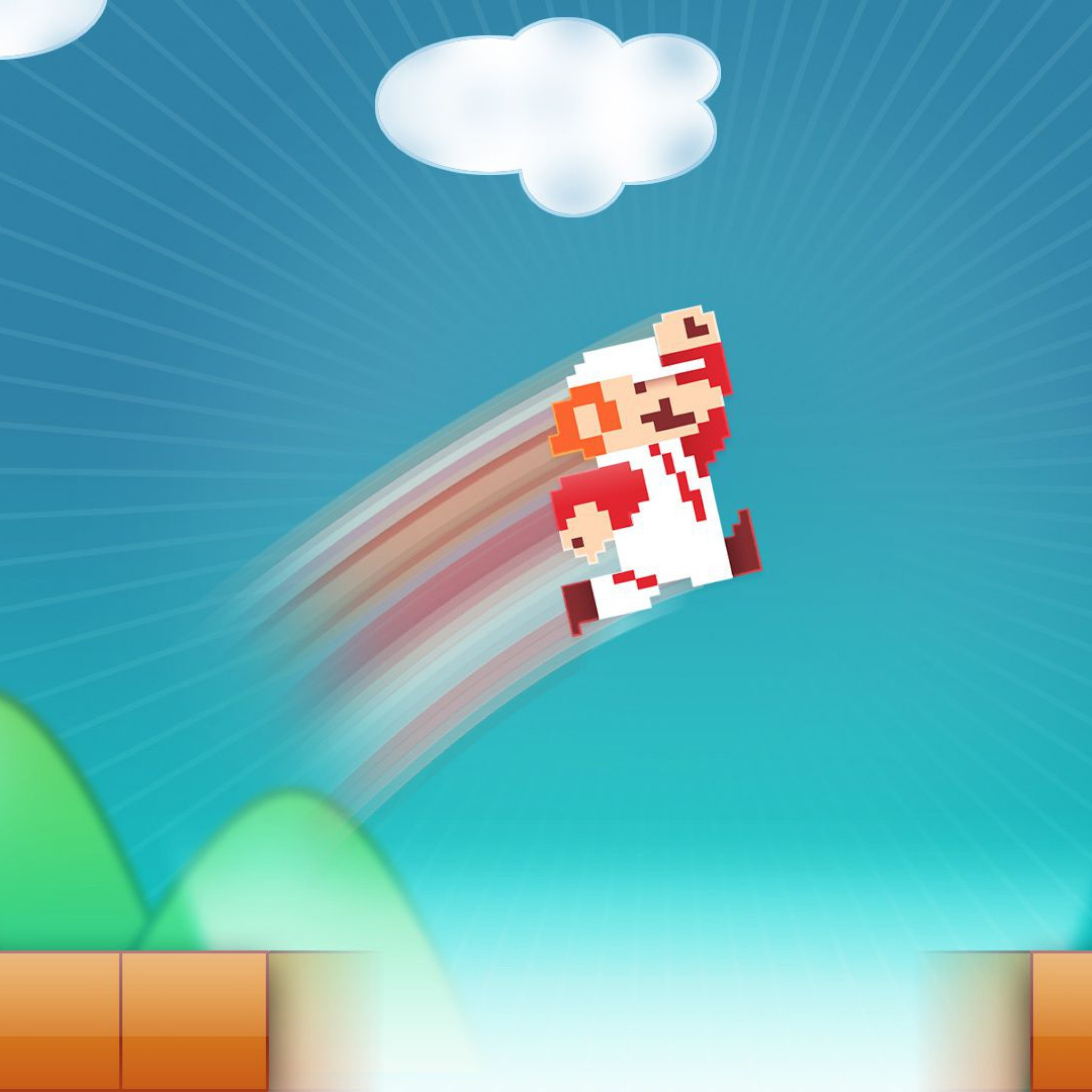 Res: 2048x2048, 8-Bit-Game-Mario-