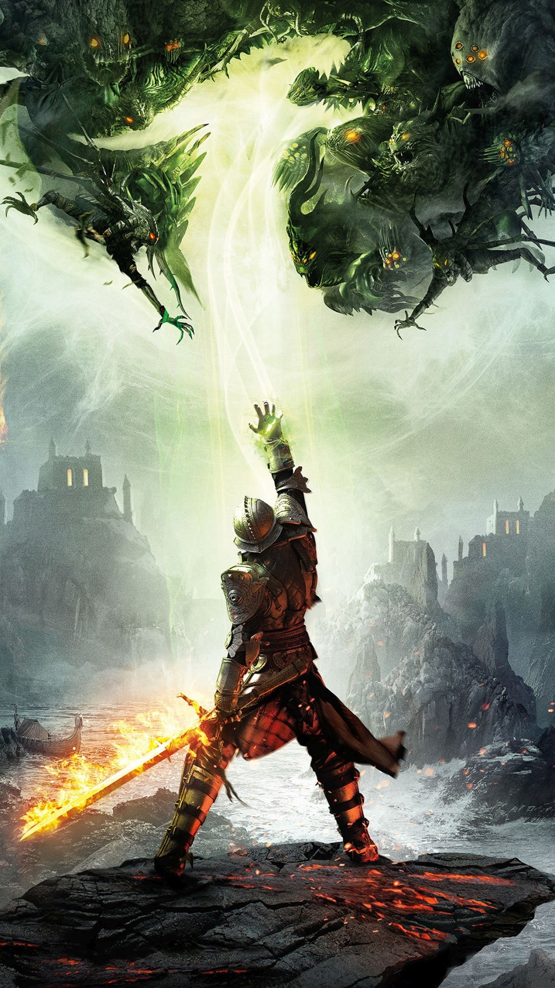 Res: 1080x1920, Dragon Age Game IPhone 6+ HD Wallpaper