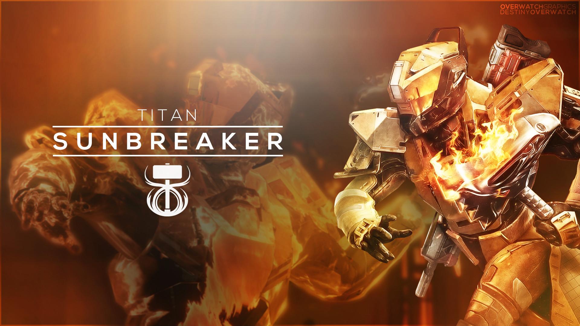 Res: 1920x1080, ... OverwatchGraphics Destiny the Game - Sunbreaker Wallpaper by  OverwatchGraphics