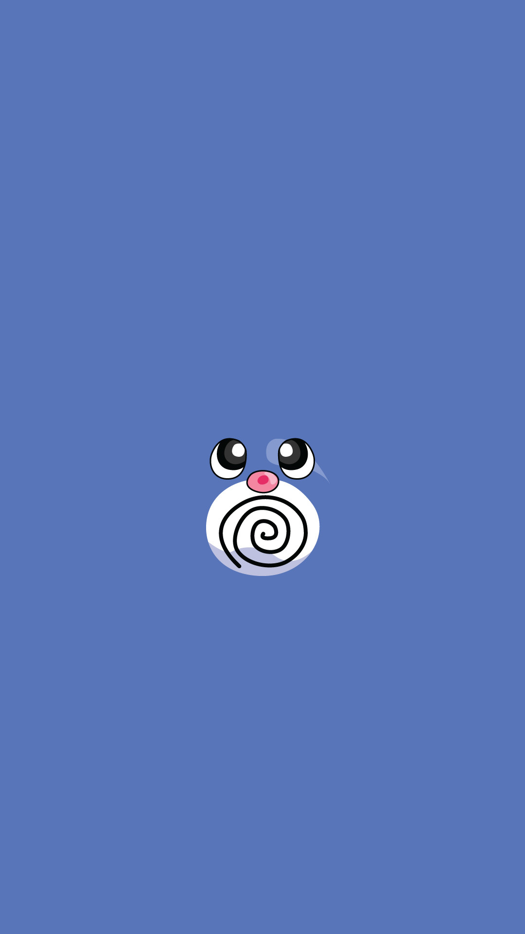 Res: 1080x1920, Poliwag Pokemon IPhone 6+ HD Wallpaper