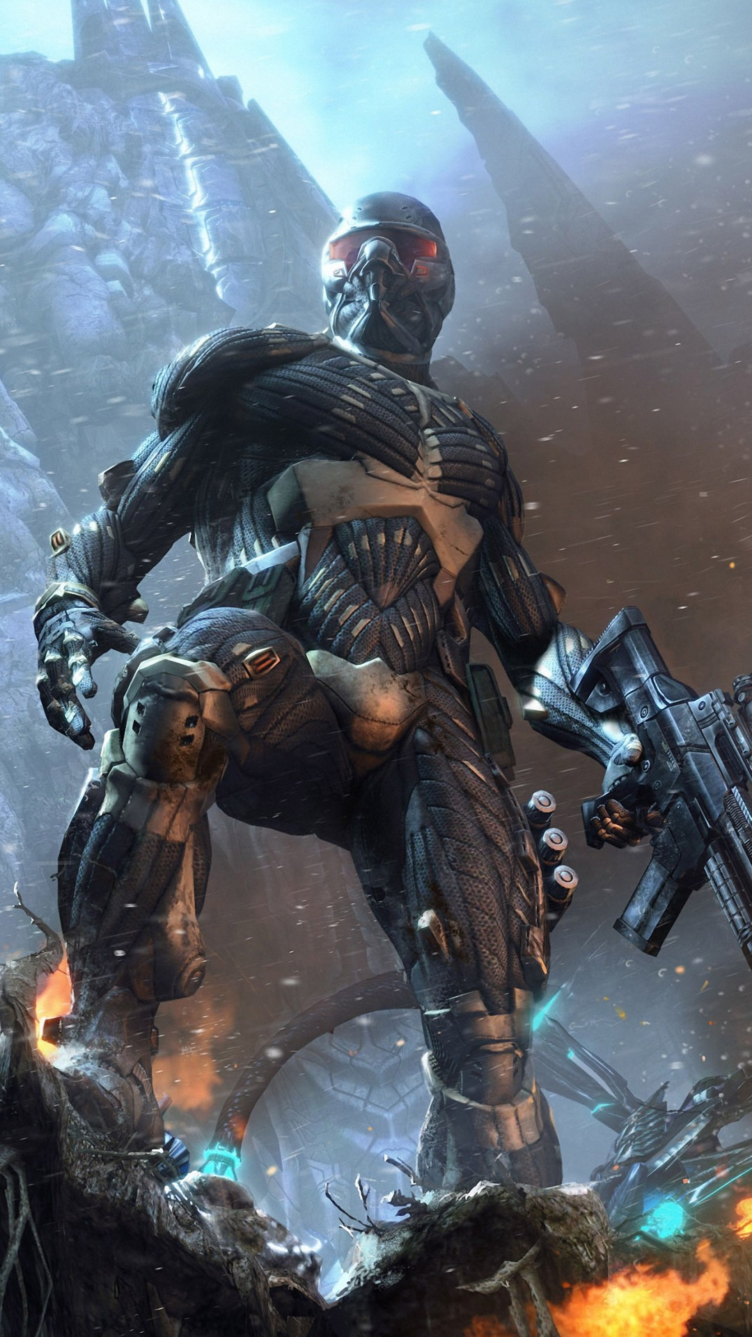 Res: 1080x1920, crysis worrior game iphone 6 wallpapers HD