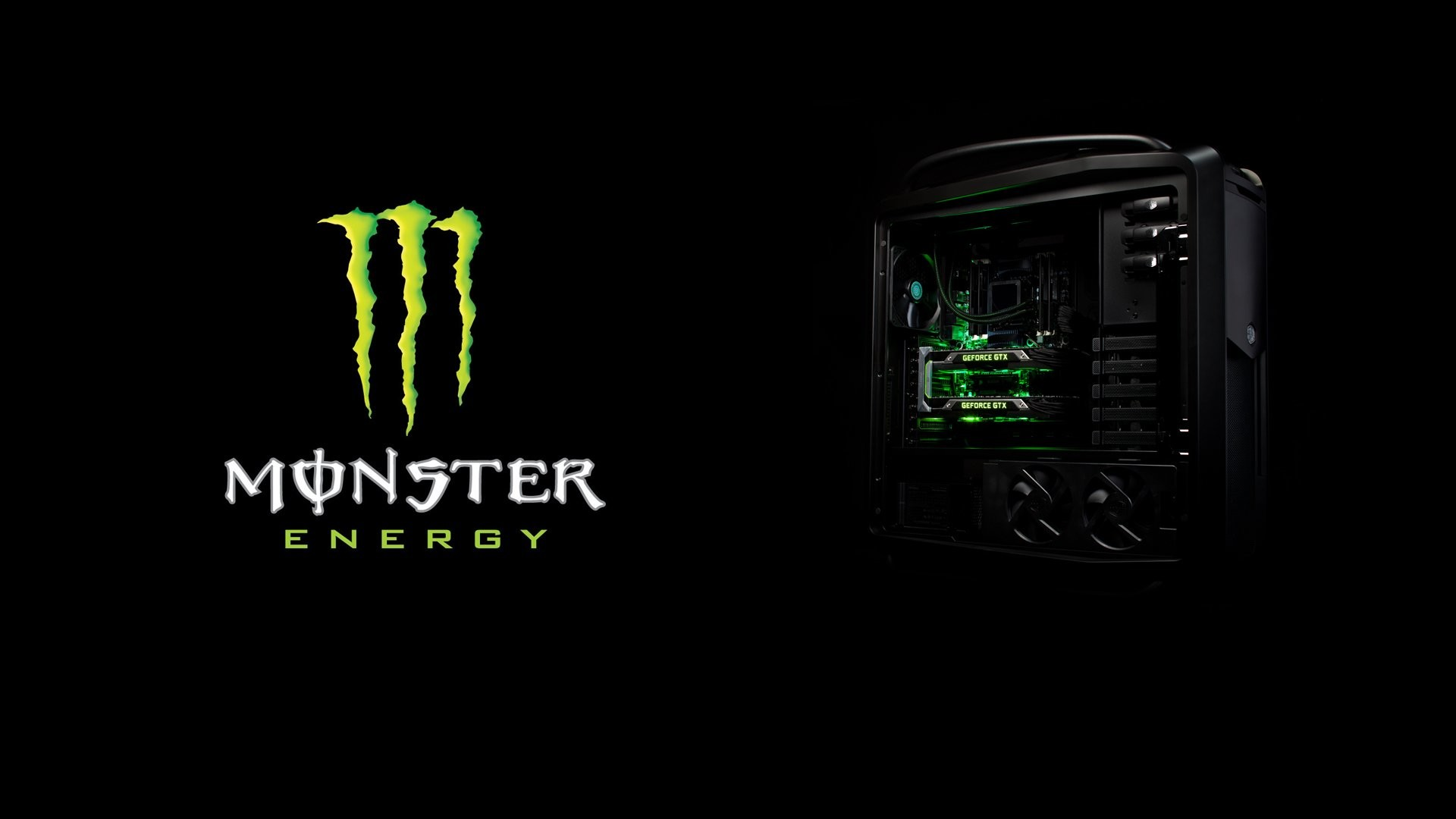 Res: 1920x1080, gaming wallpaper monster energy