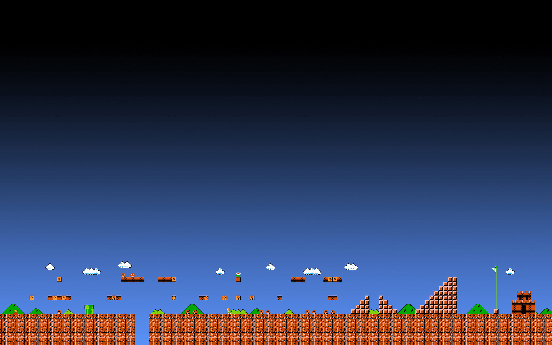 Res: 1920x1200, Super Mario 1-1 Animated Wallpaper Gif - by ColinPlox ...