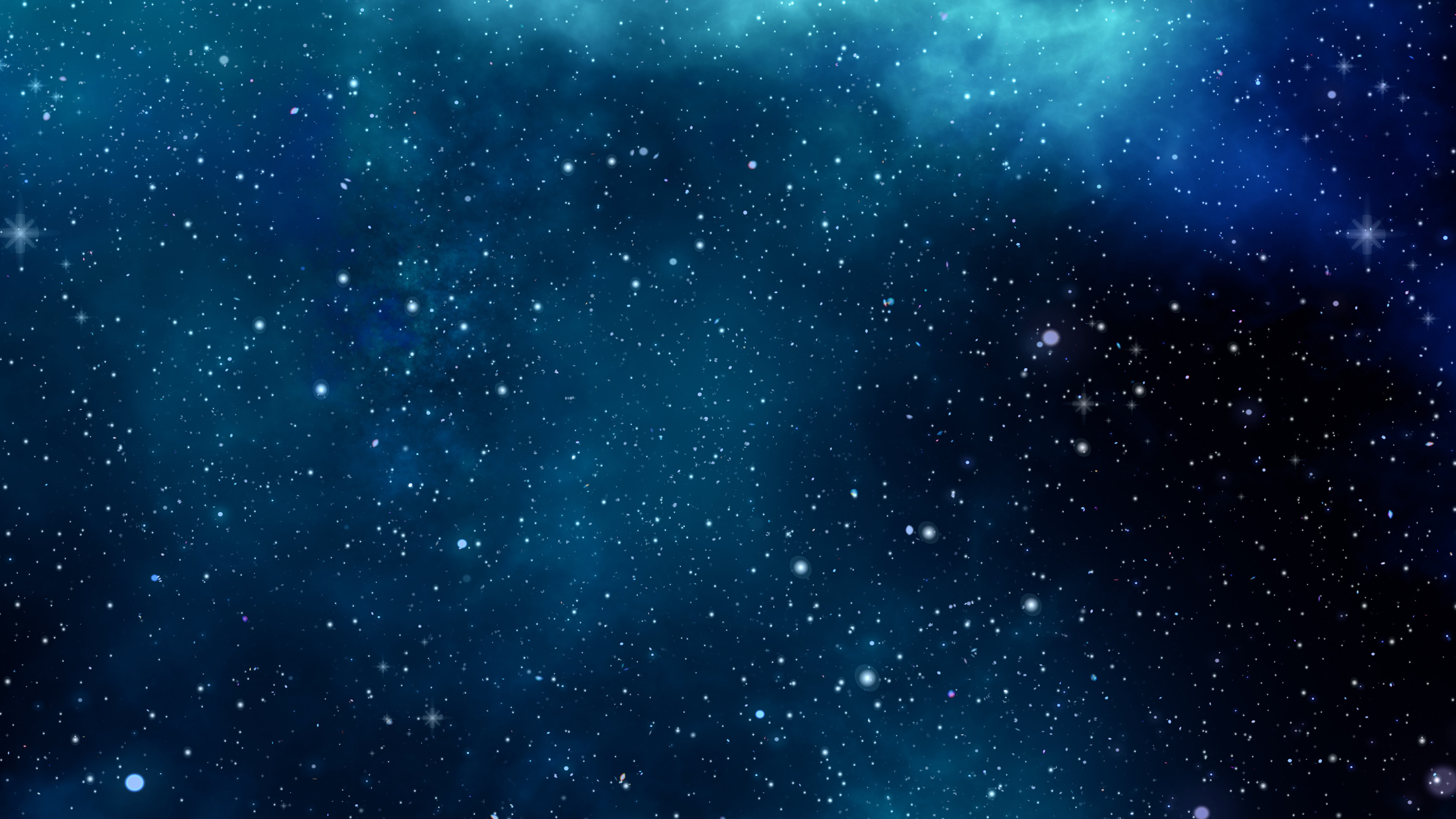 Res: 3840x2160, Blue Space ChromeBook Wallpaper
