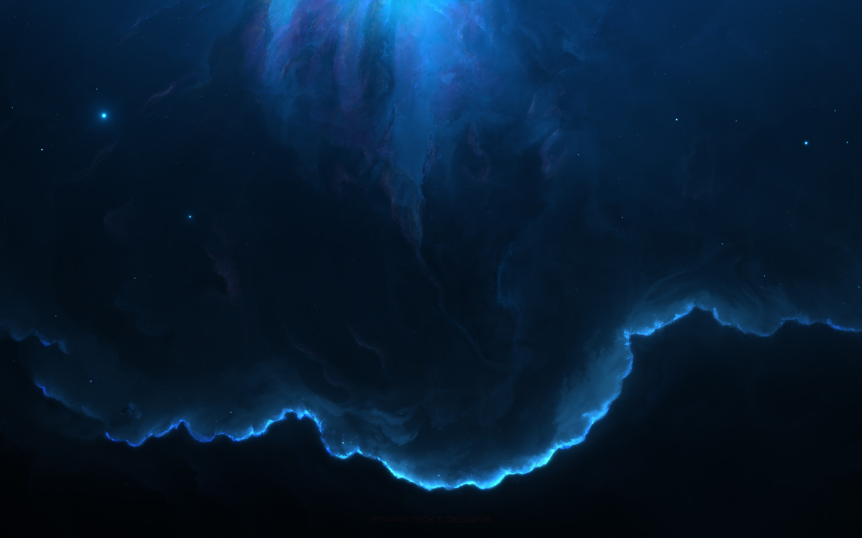 Res: 2880x1800, Space / Nebula Wallpaper