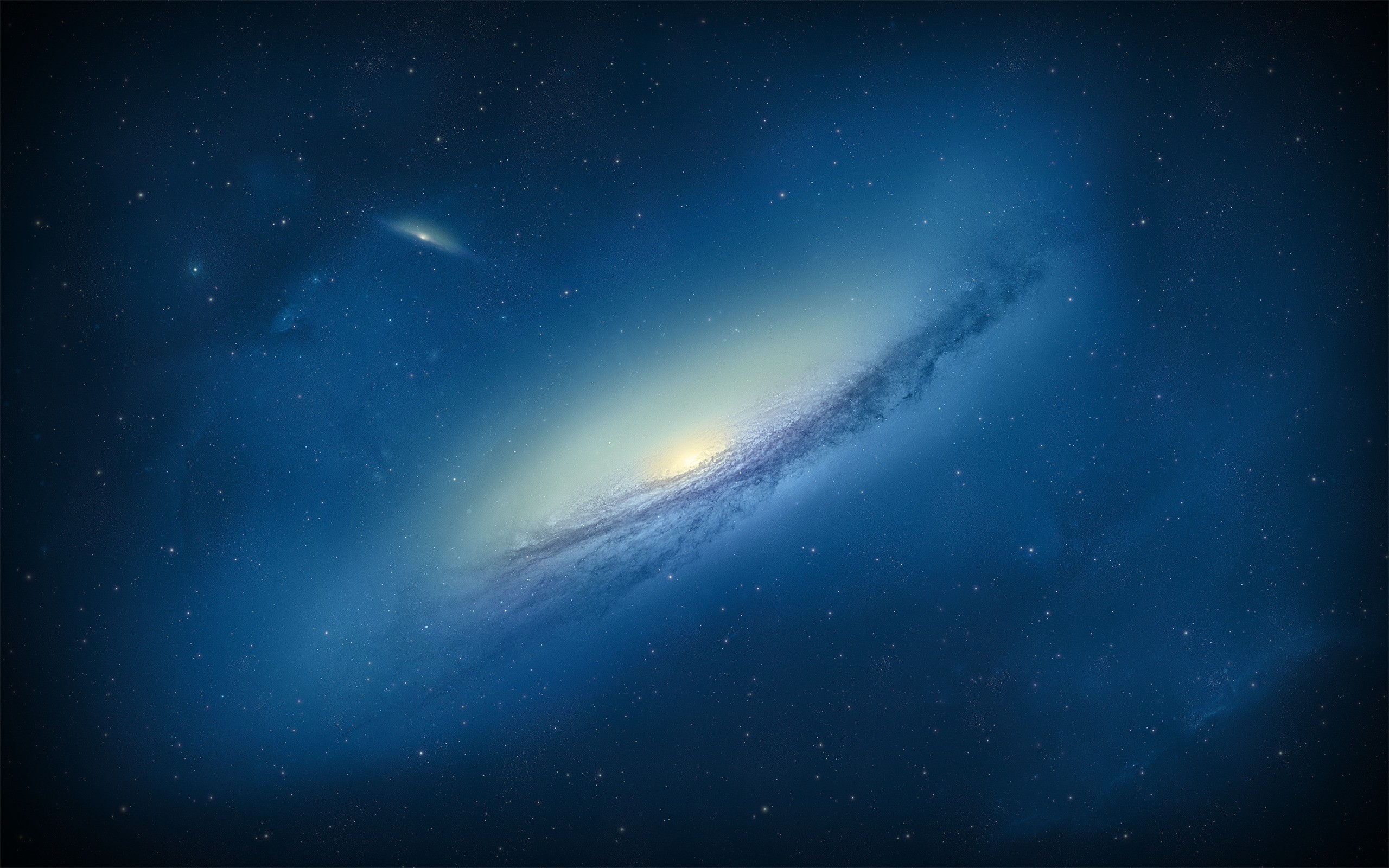 Res: 2560x1600, ... Blue Galaxy Wallpaper (+Premium space wallpapers) by ChrisFR06