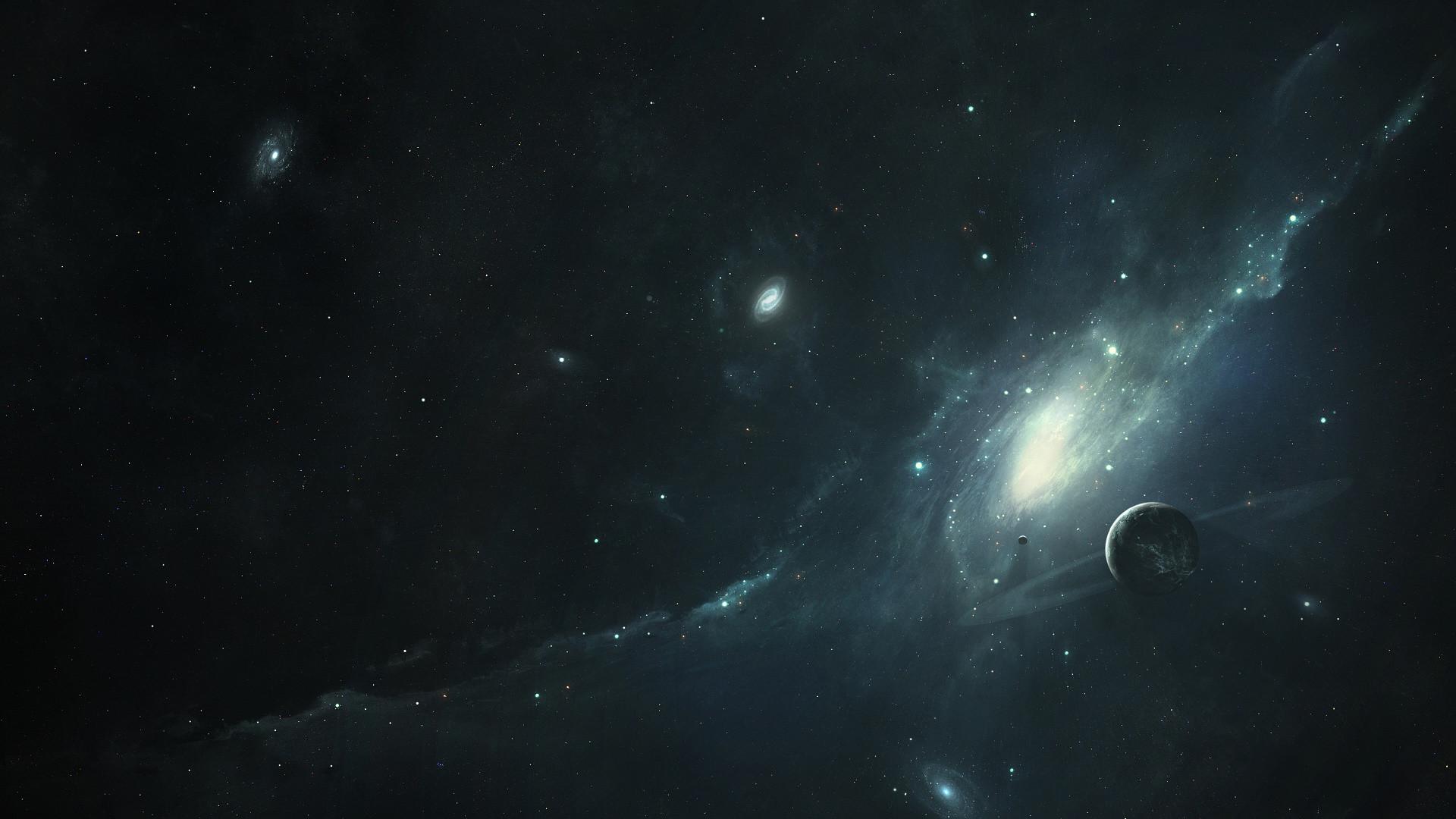 Res: 1920x1080, Dark Universe