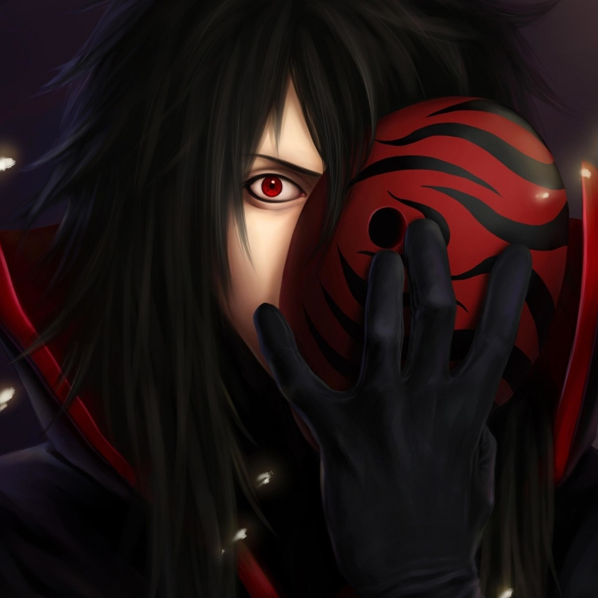 Res: 2048x2048, Wallpapers For > Madara Uchiha Sharingan Wallpaper