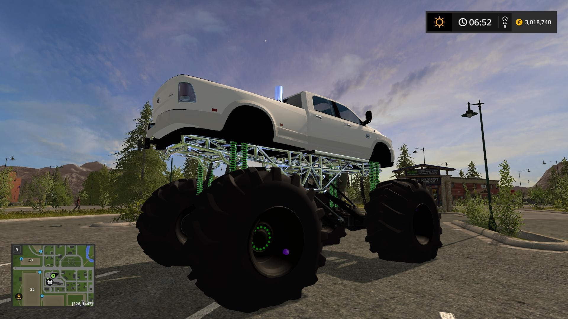 Res: 1920x1080, DODGE MUD LIFTED V1.0 Truck