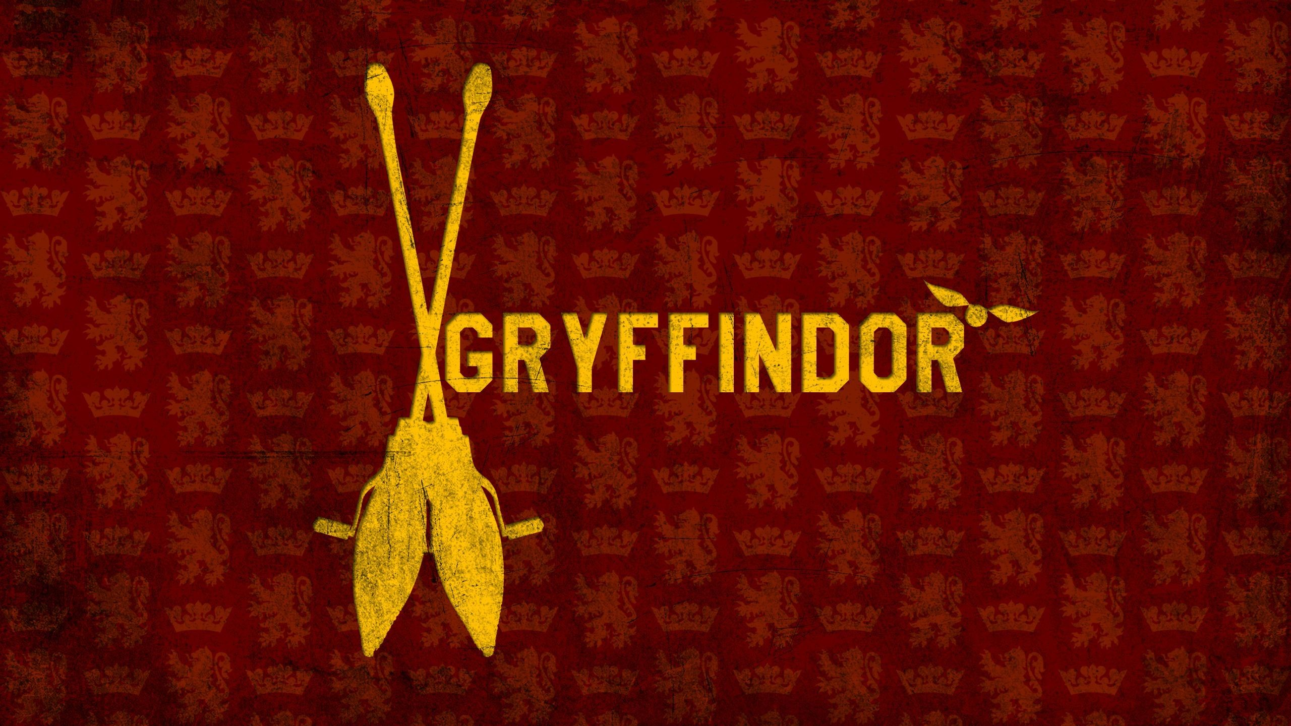 Res: 2560x1440, Gryffindor Wallpaper