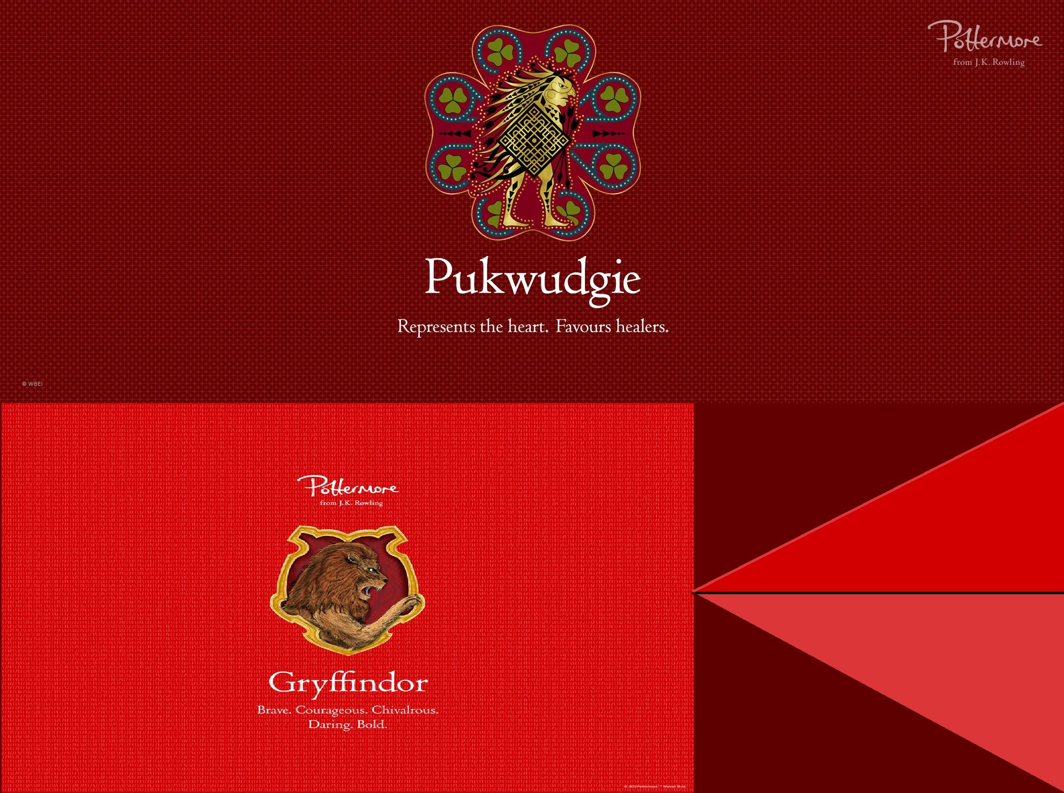 Res: 2099x1564, Wallpapers Pukwudgie-Gryffindor by JuniorS89 Wallpapers Pukwudgie-Gryffindor  by JuniorS89