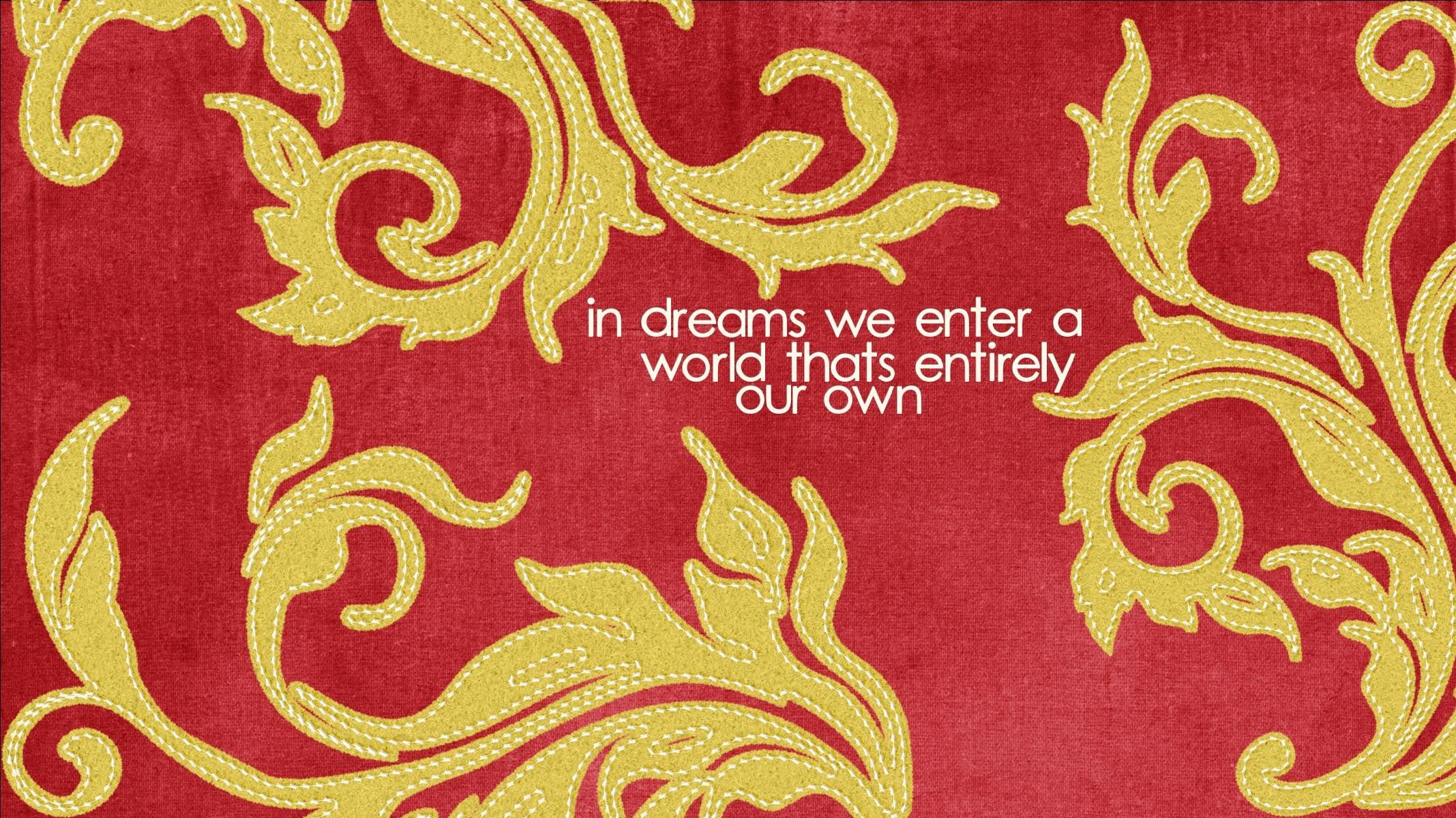Res: 2135x1200, Gryffindor colors with a Dumbledore quote (Widescreen Wallpaper made by  Deanna