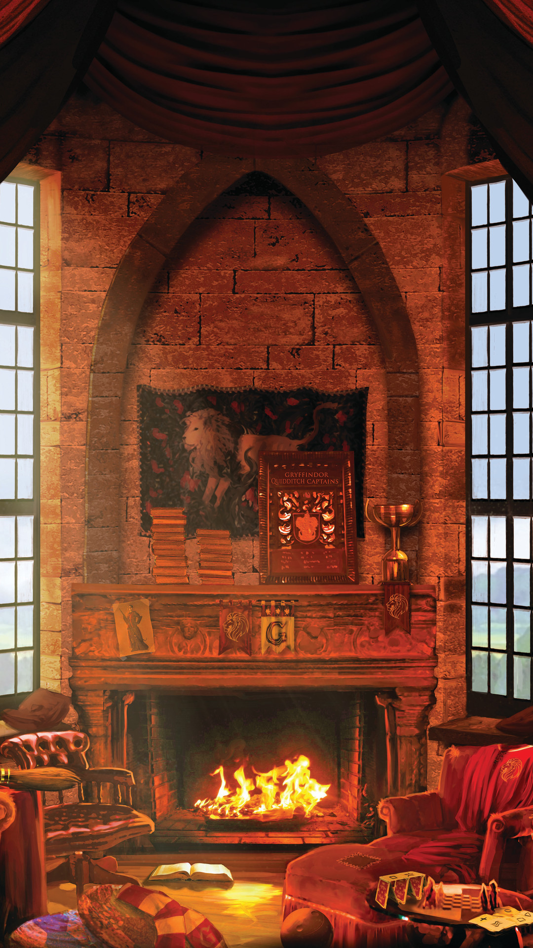 Res: 1080x1920, Hogwarts Common Rooms.