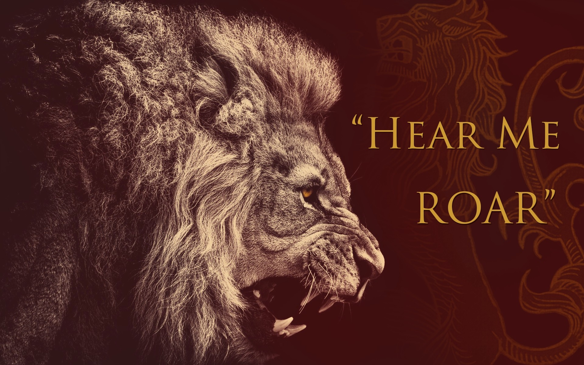 Res: 1920x1200, ... game of thrones lions house lannister  wallpaper Art HD  Wallpaper ...