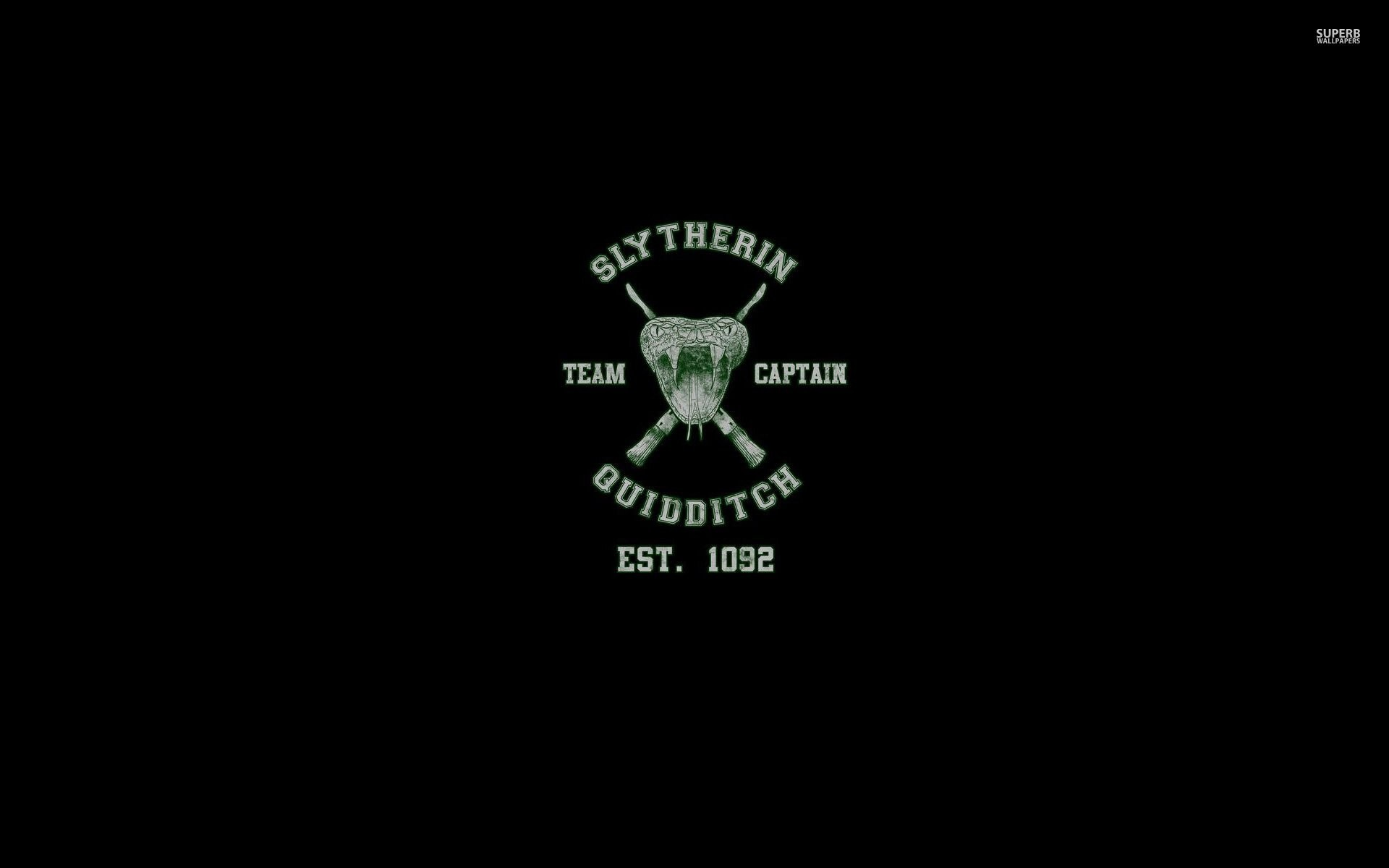 Res: 1920x1200, slytherin quidditch team - harry potter