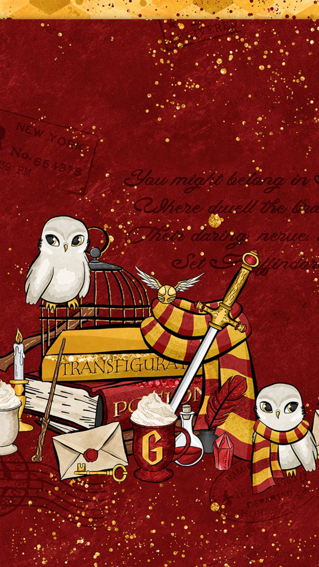 Res: 1242x2208, Pin by Taylor Head on Gryffindor!! | Pinterest | Harry potter, Wallpaper  and Hogwarts