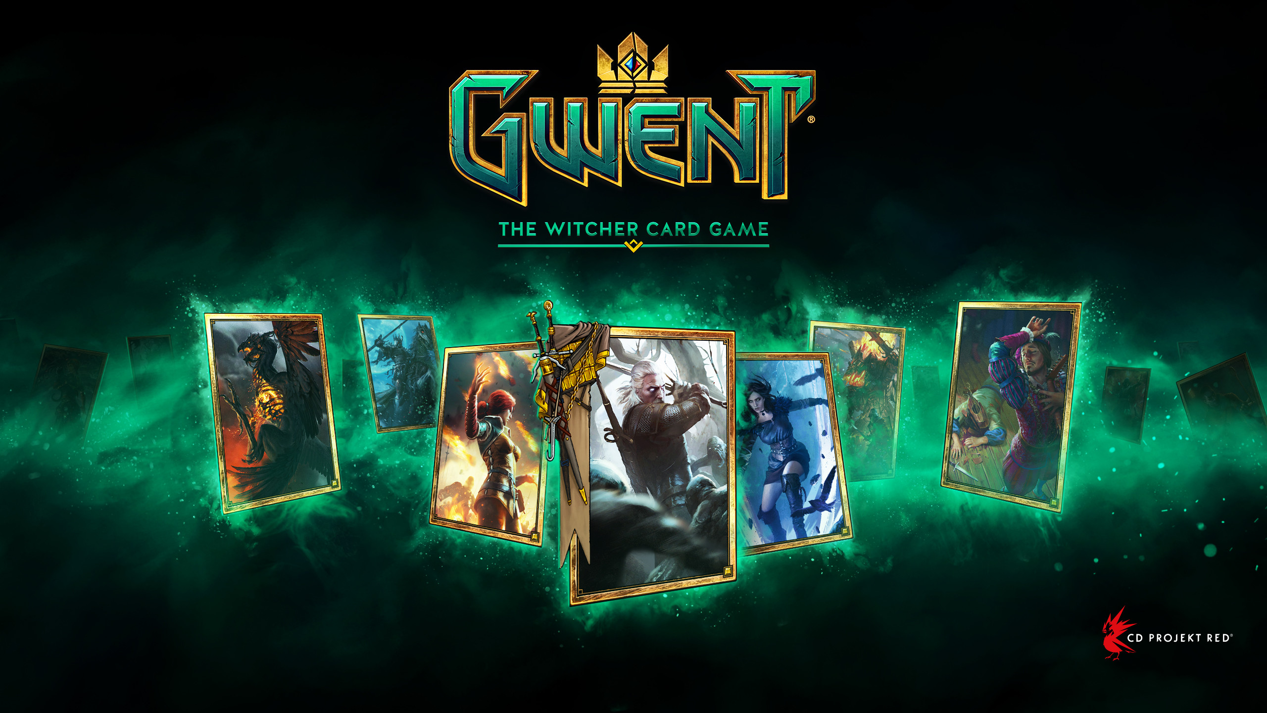 Res: 2560x1440, GWENT wallpaper preview
