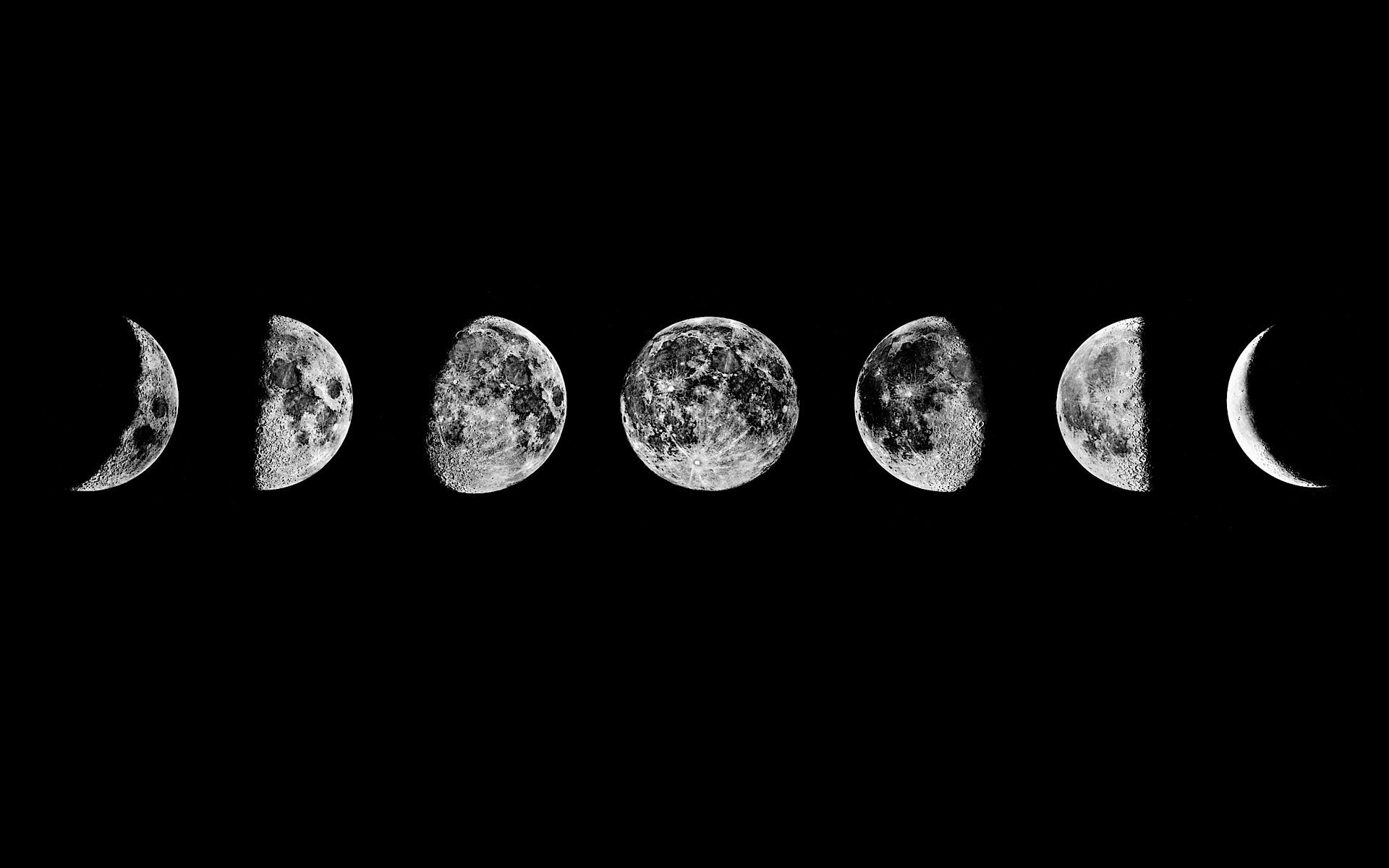 Res: 1920x1200, Moon Phases Wallpapers Hd Full Wallpaper Desktop Res px