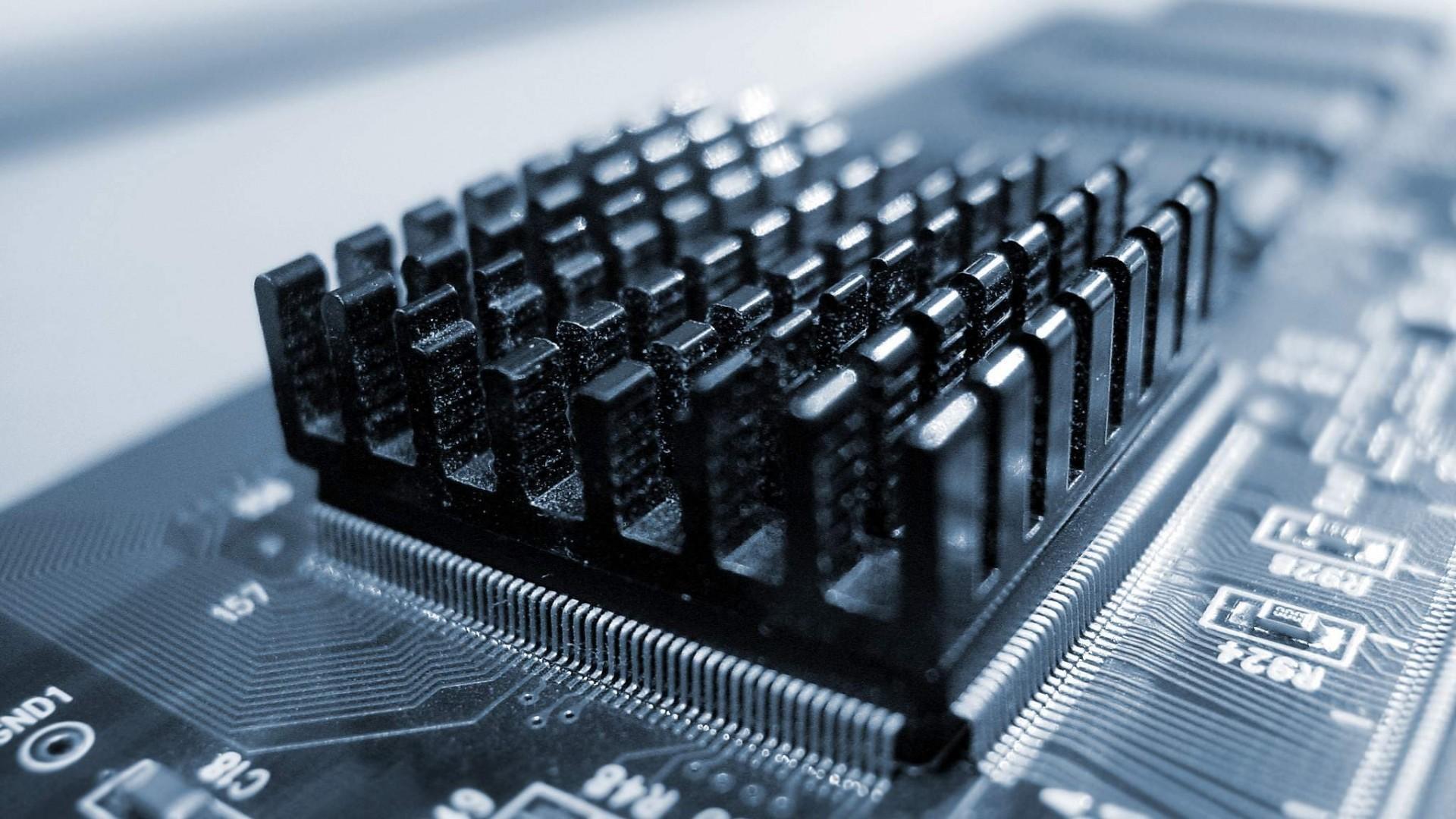 Res: 1920x1080, radiator, black, chip