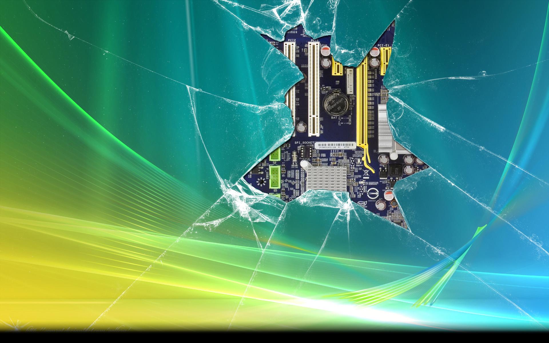 Res: 1920x1200, Broken Vista Chip Wallpaper by cderekw Broken Vista Chip Wallpaper by  cderekw