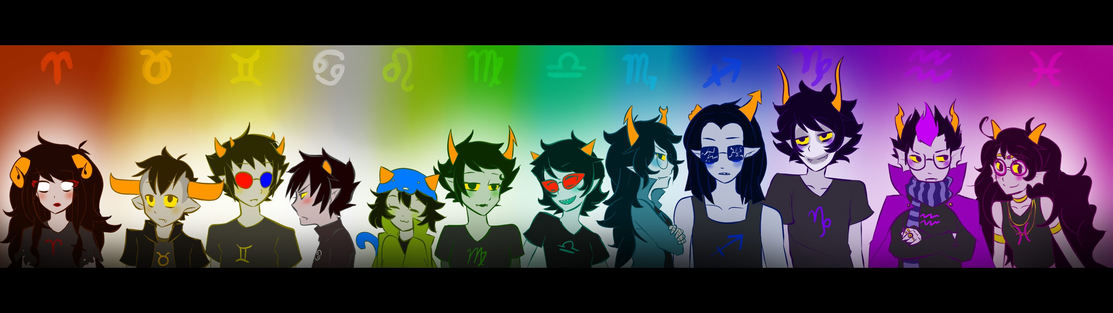 Res: 3840x1080, Homestuck HD Wallpapers and Backgrounds