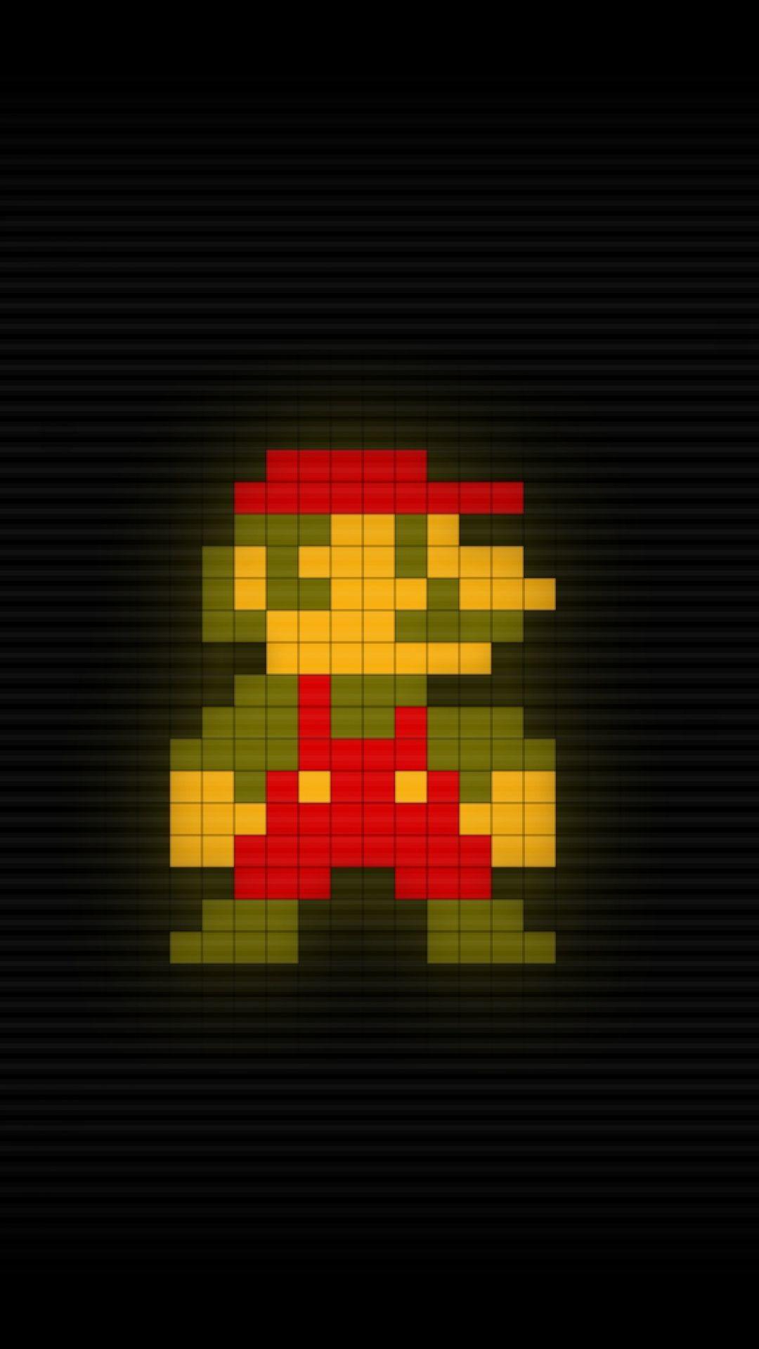Res: 1080x1920, hd pixel art super mario bros wallpaper for mobile (JPEG Image,  1080 × 1920 pixels) - Scaled (31%)