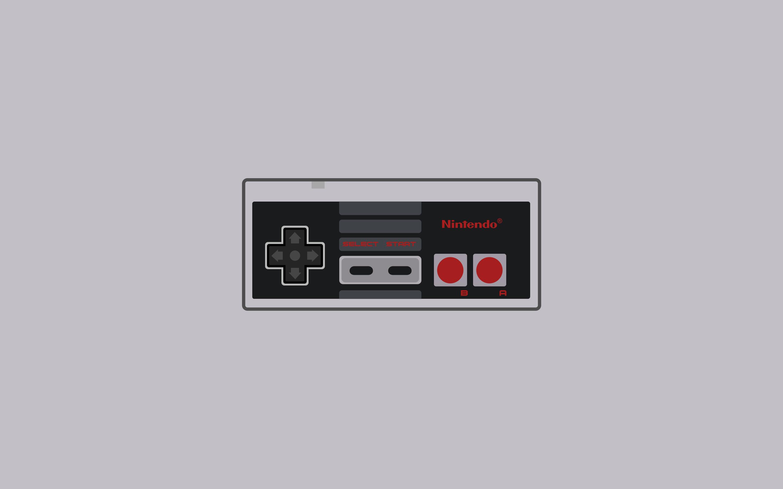 Res: 2880x1800, Nintendo NES controller wallpaper