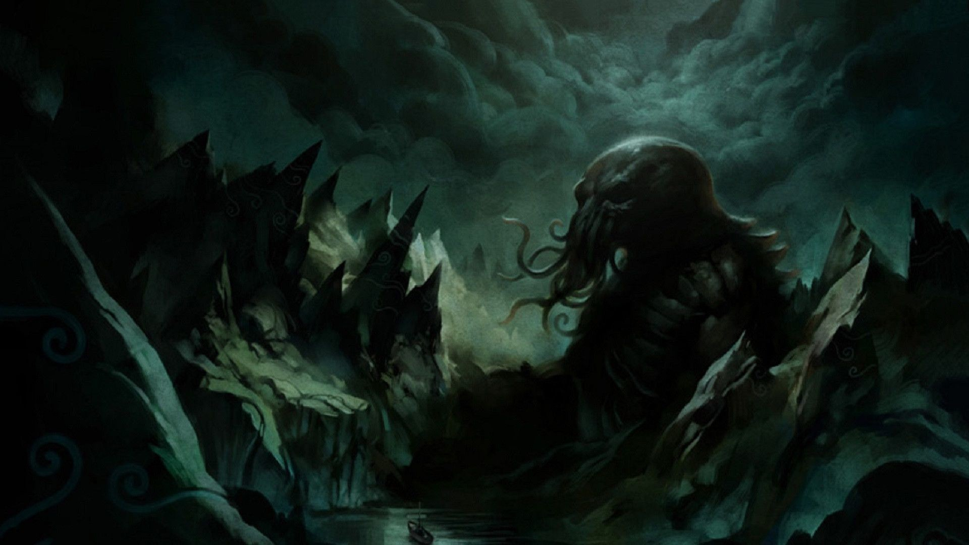 Res: 1920x1080, Cthulhu Wallpapers - Wallpaper Cave