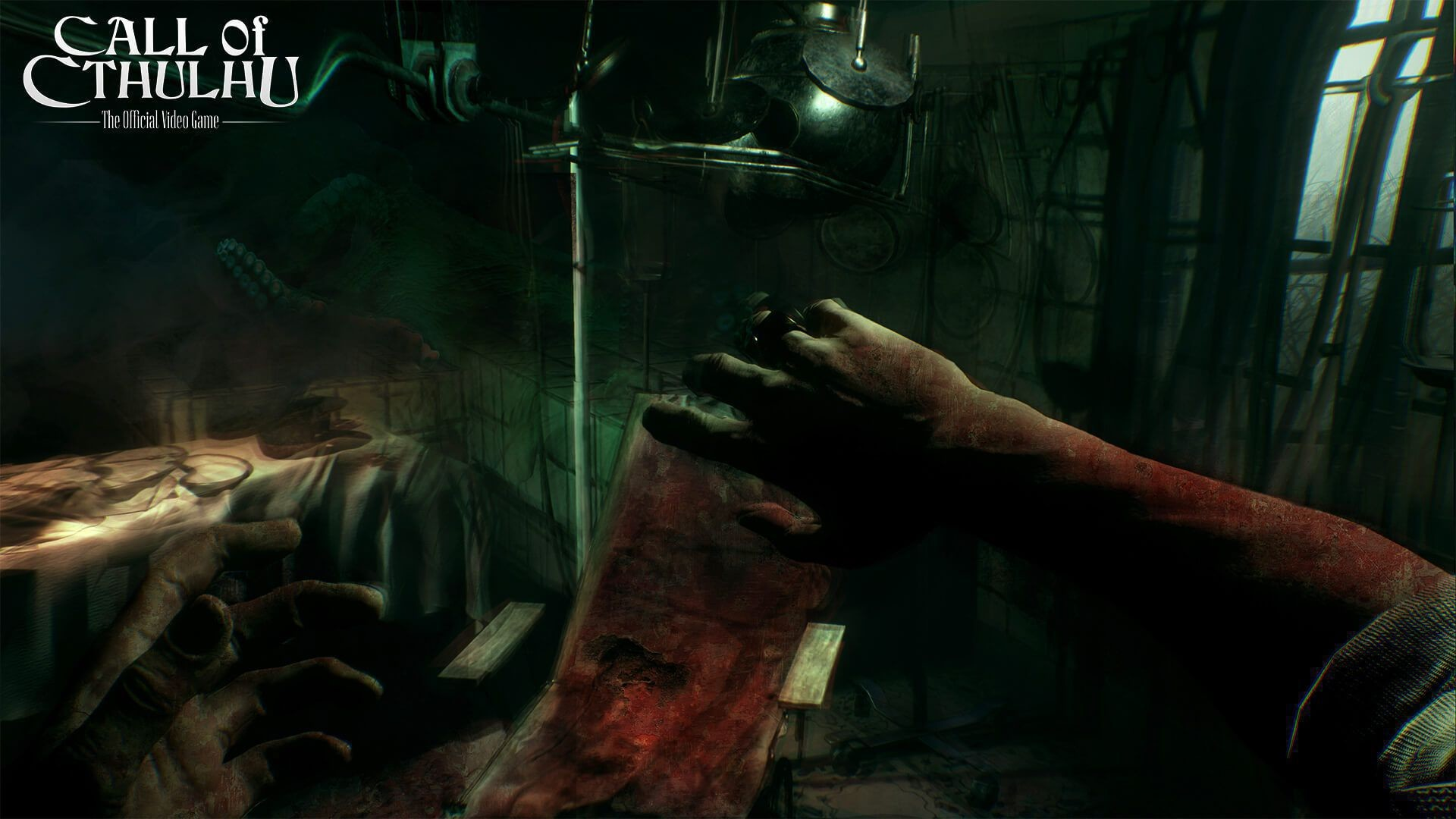 Res: 1920x1080, Call Of Cthulhu Background ...