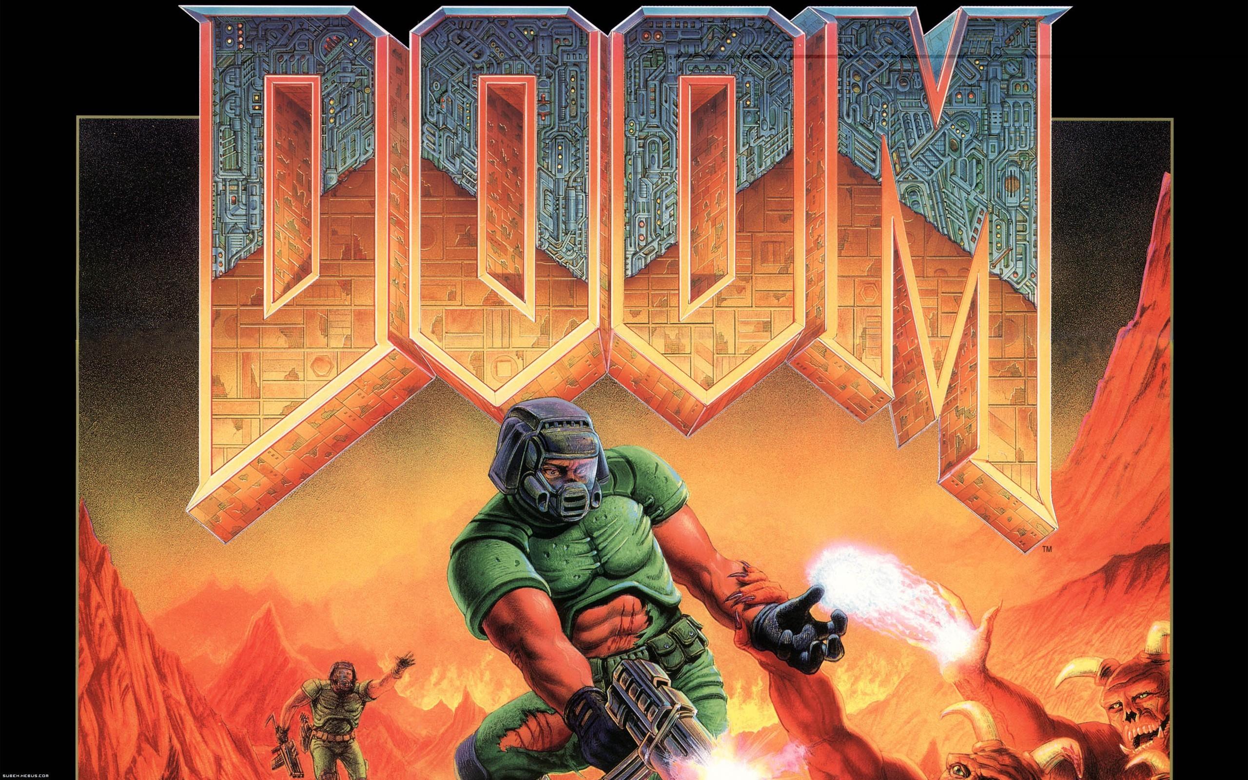 Res: 2560x1600, Video Game - Doom Wallpaper